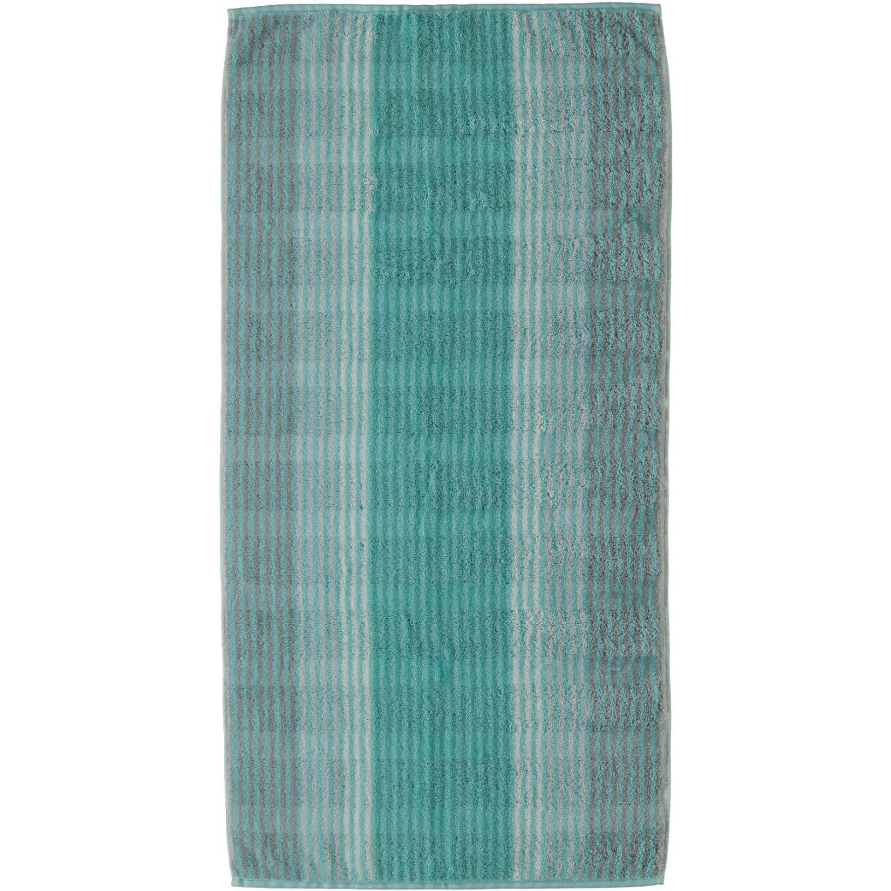 Cawö - Frottier Duschtuch mit Streifen Muster in verschiedenen Farben und Größen(1056) Noblesse Cashmere – Bild 1