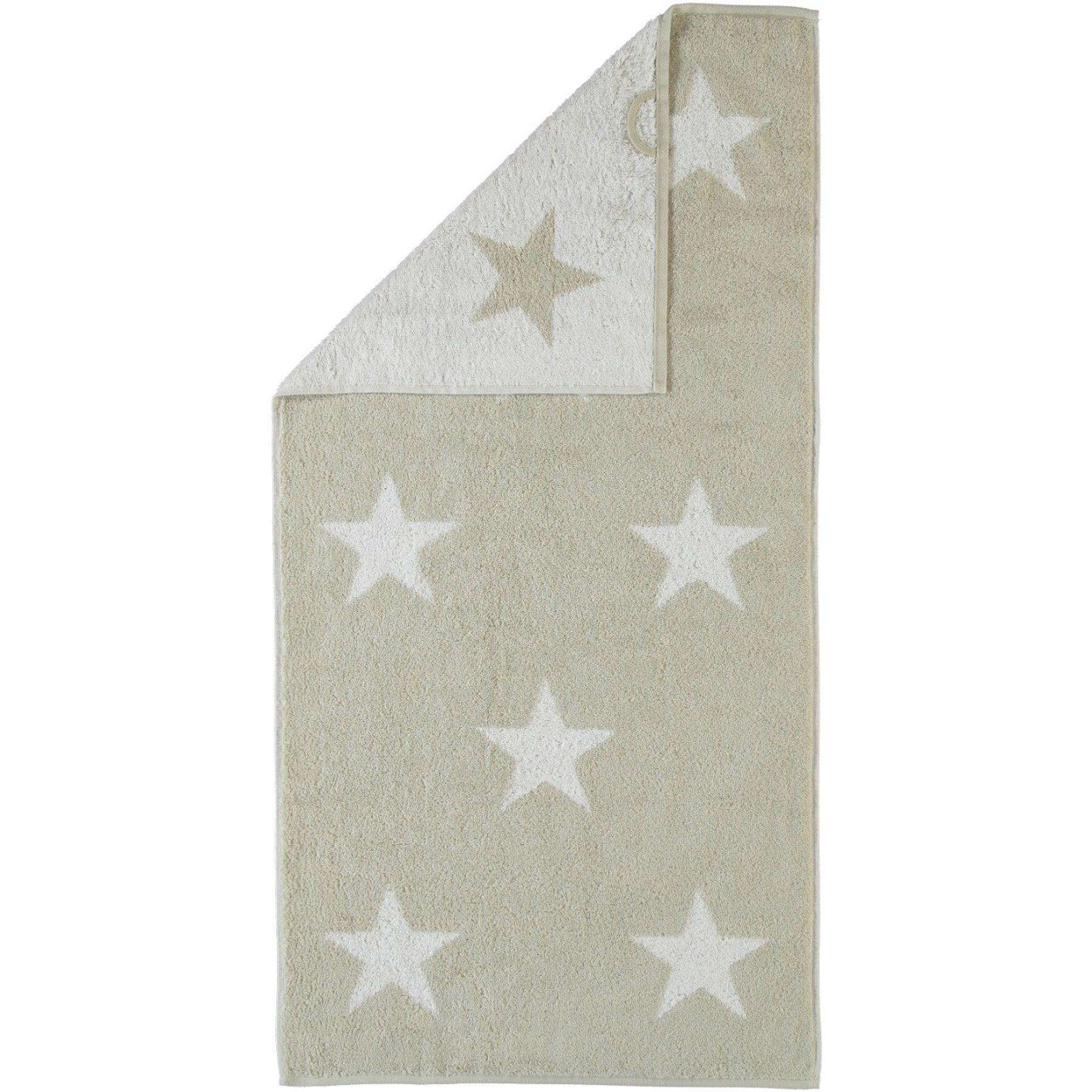 Cawö - Frottier Tuch mit Sternen Muster in verschiedenen Farben und Größen (524) – Bild 1