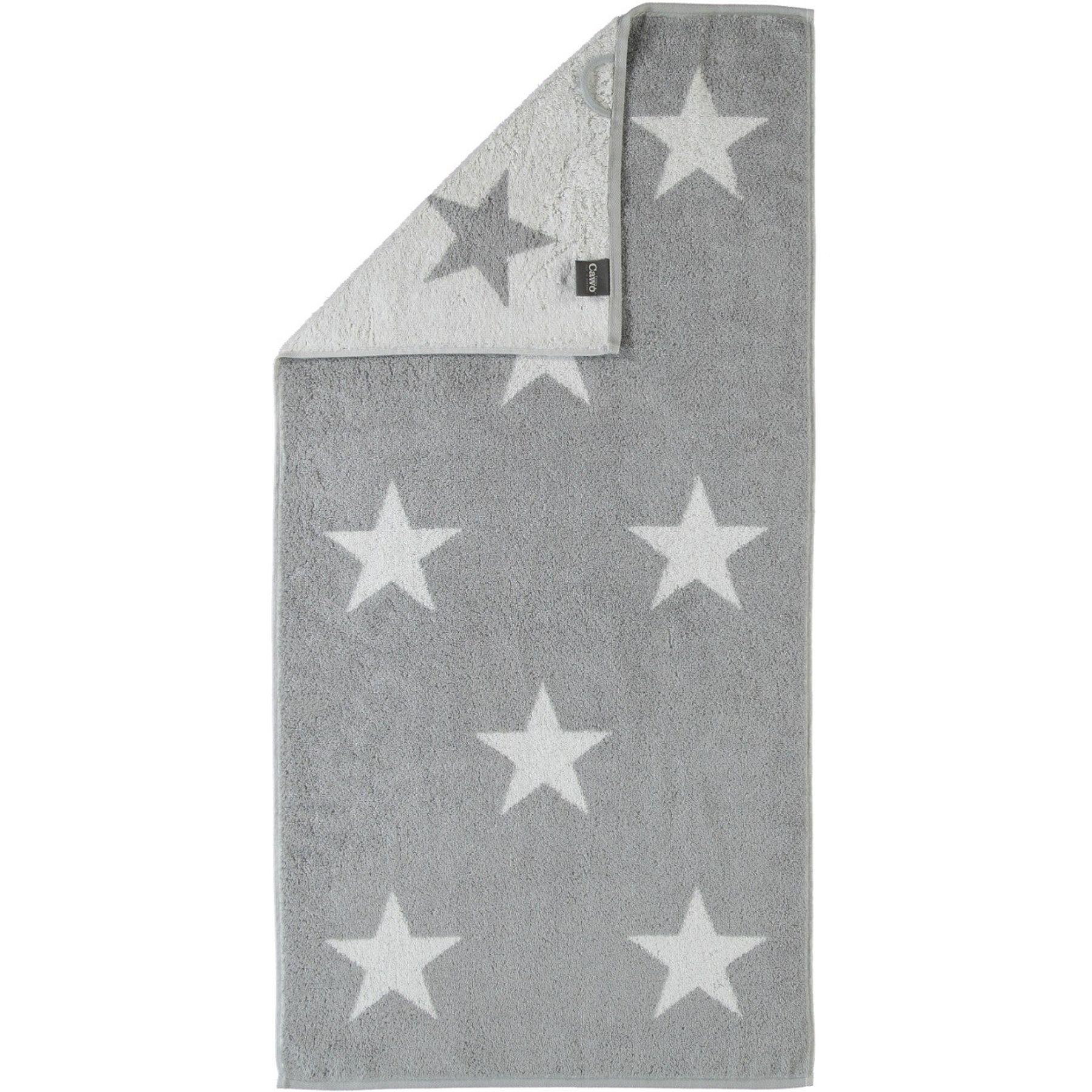 Cawö - Frottier Tuch mit Sternen Muster in verschiedenen Farben und Größen (524) – Bild 3