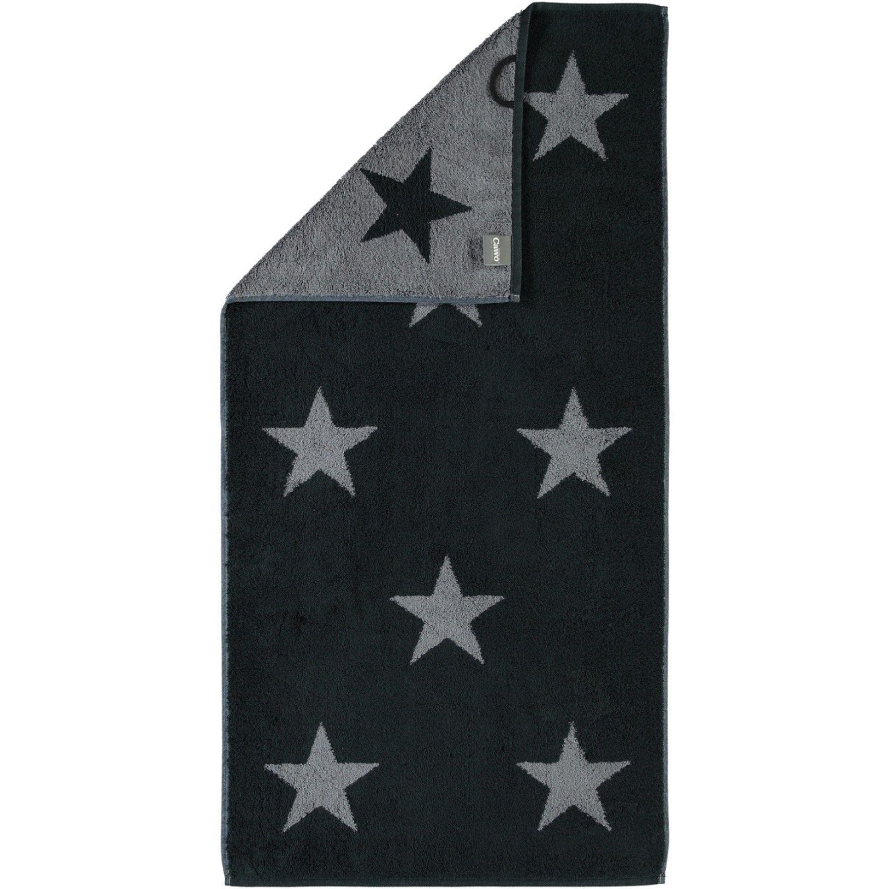 Cawö - Frottier Tuch mit Sternen Muster in verschiedenen Farben und Größen (524) – Bild 5