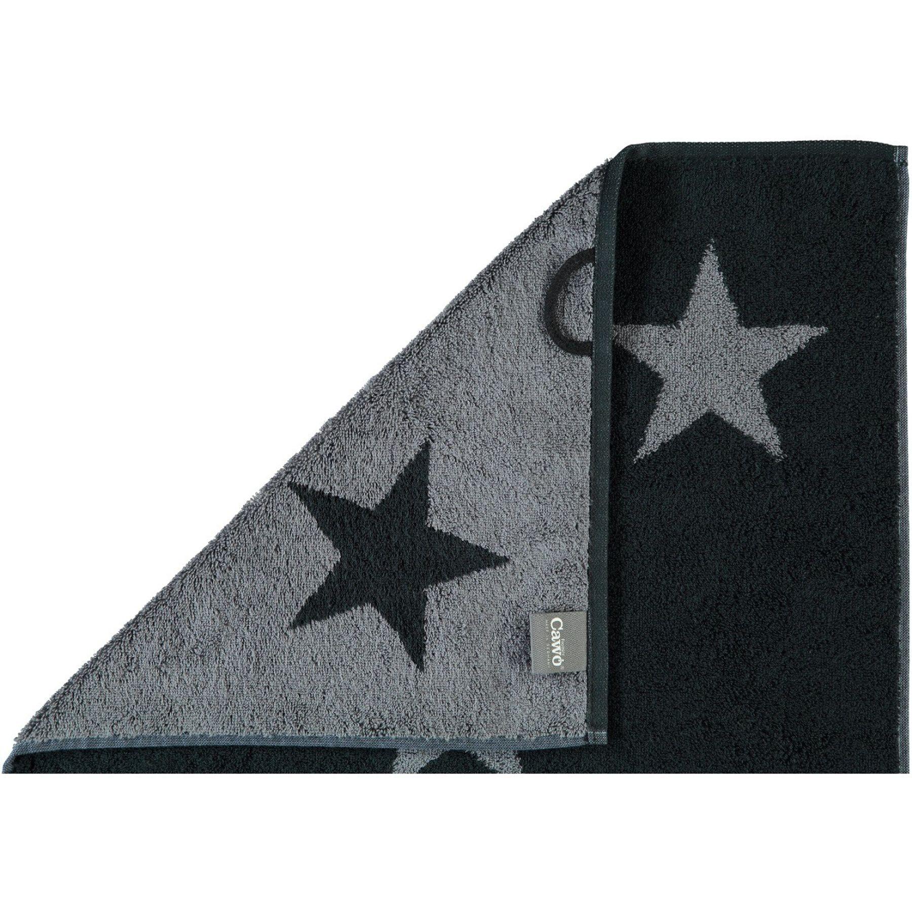 Cawö - Frottier Tuch mit Sternen Muster in verschiedenen Farben und Größen (524) – Bild 6