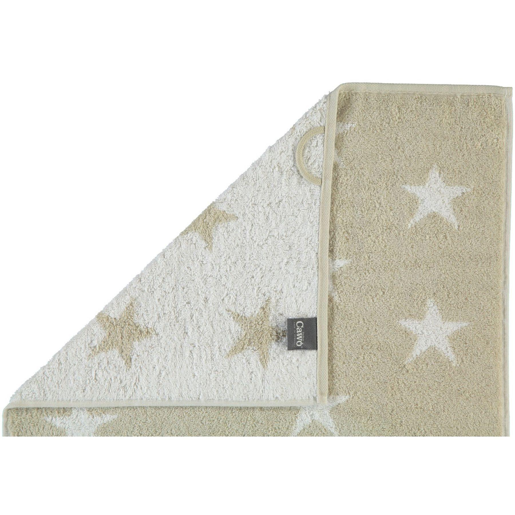 Cawö - Frottier Duschtuch mit Sternen Muster in verschiedenen Farben (525) – Bild 2