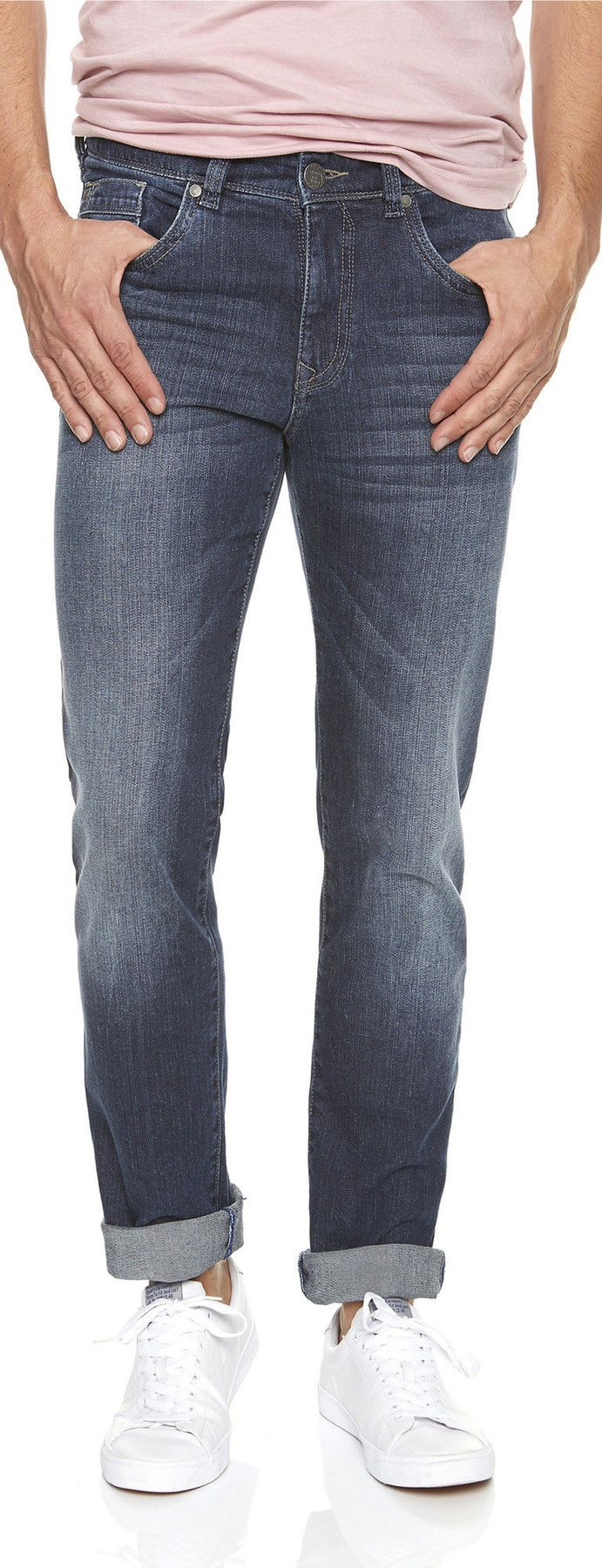 Atelier Gardeur - Regular Fit - Herren 5-Pocket Jeans in Dark Stone, Nevio (71080)