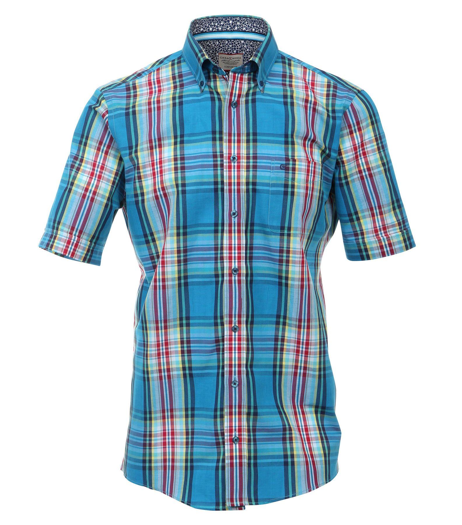 Casa Moda - Comfort Fit - Herren kurzarm Hemd in verschiedenen Varianten – Bild 16