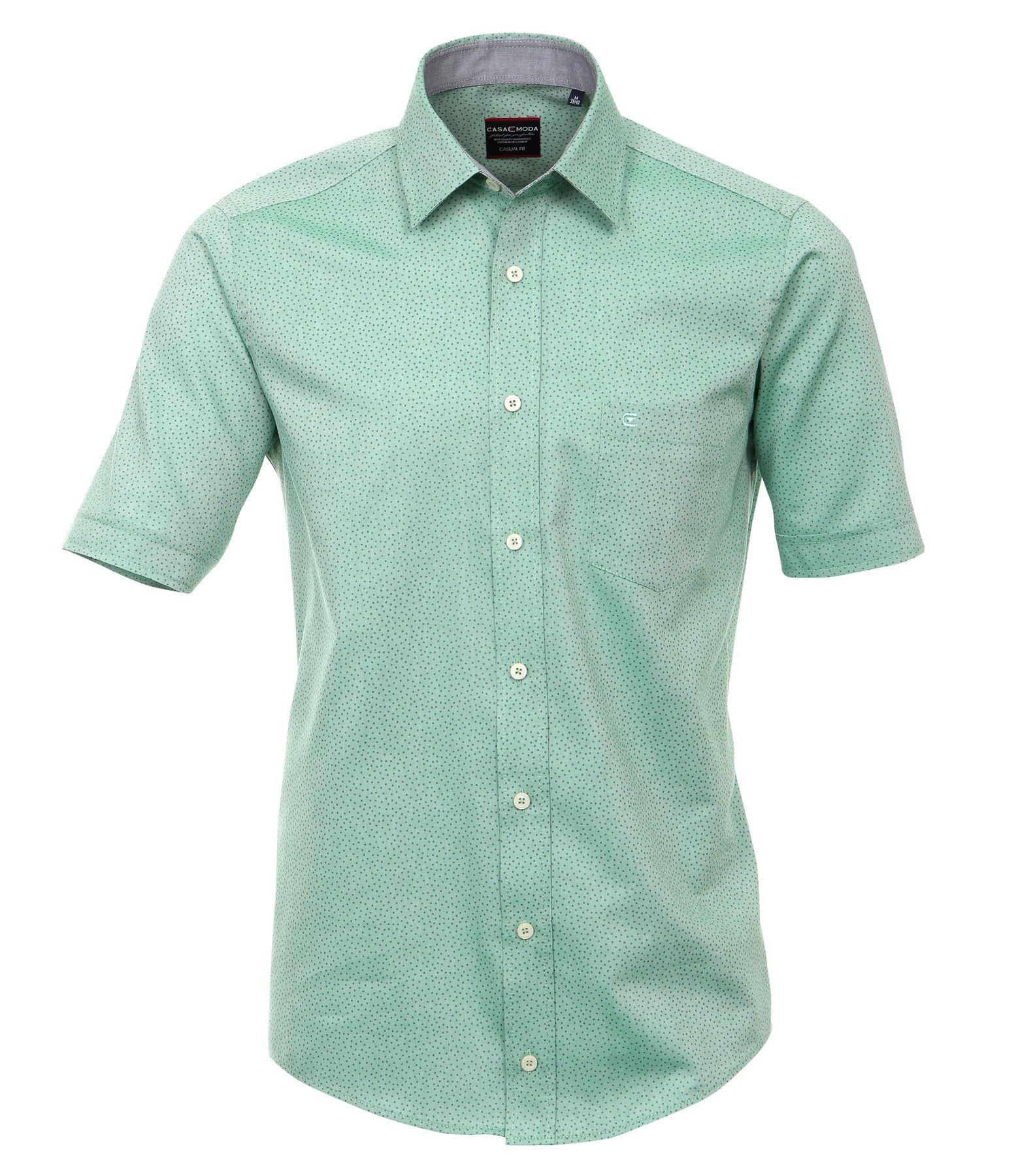 Casa Moda - Comfort Fit - Herren kurzarm Hemd in verschiedenen Varianten – Bild 24