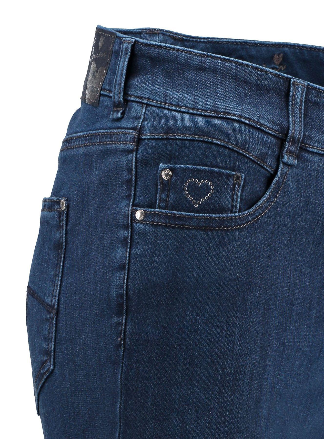 Atelier Gardeur - Slim Fit - Damen 5-Pocket Röhrenhose aus Satindenim in verschiedenen Farben, Zuri (61854) – Bild 7