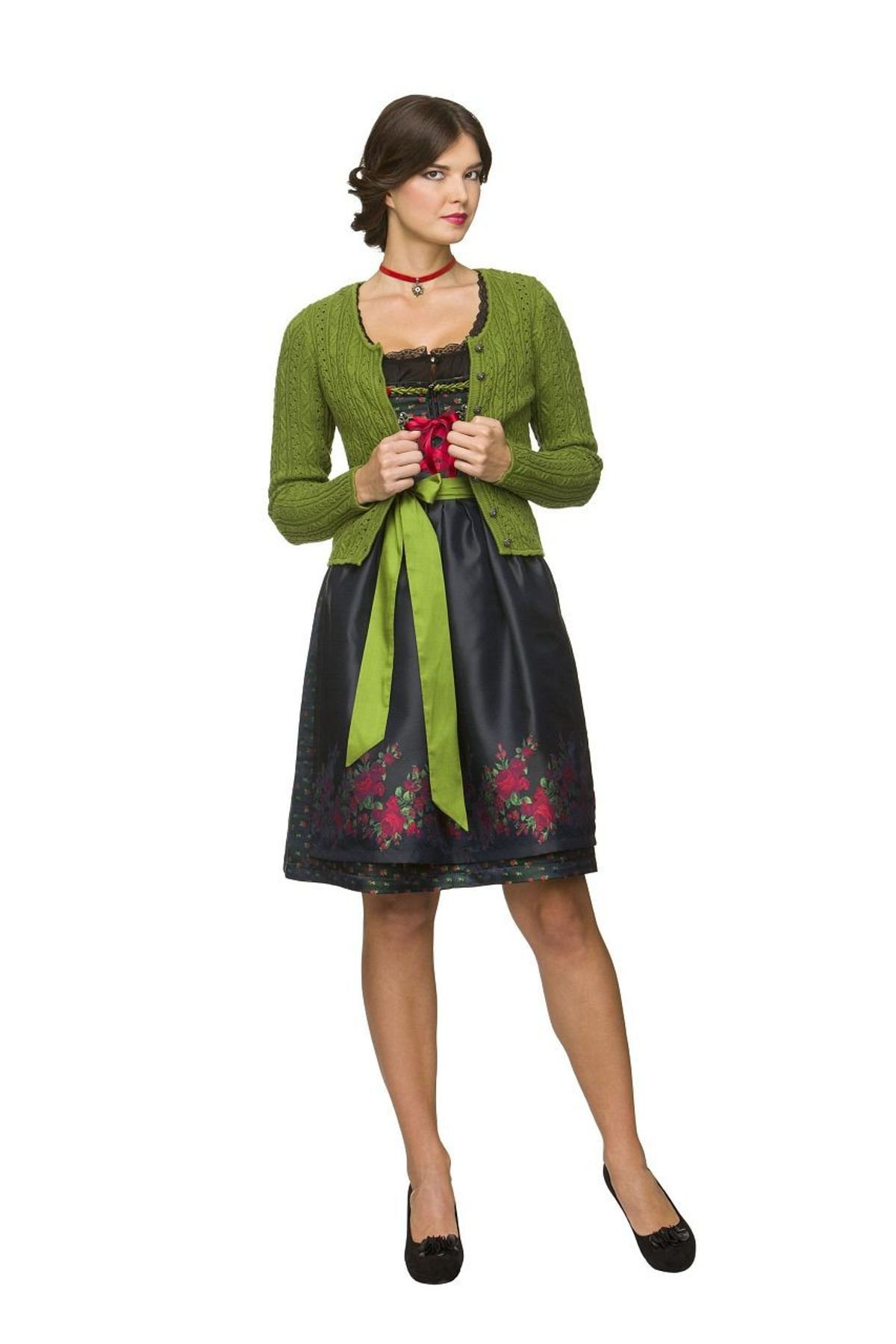 Stockerpoint - Damen Trachten Strickjacke, Liz – Bild 2