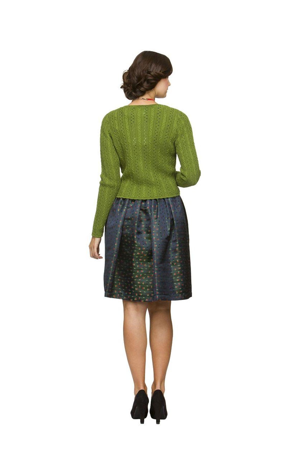 Stockerpoint - Damen Trachten Strickjacke, Liz – Bild 4