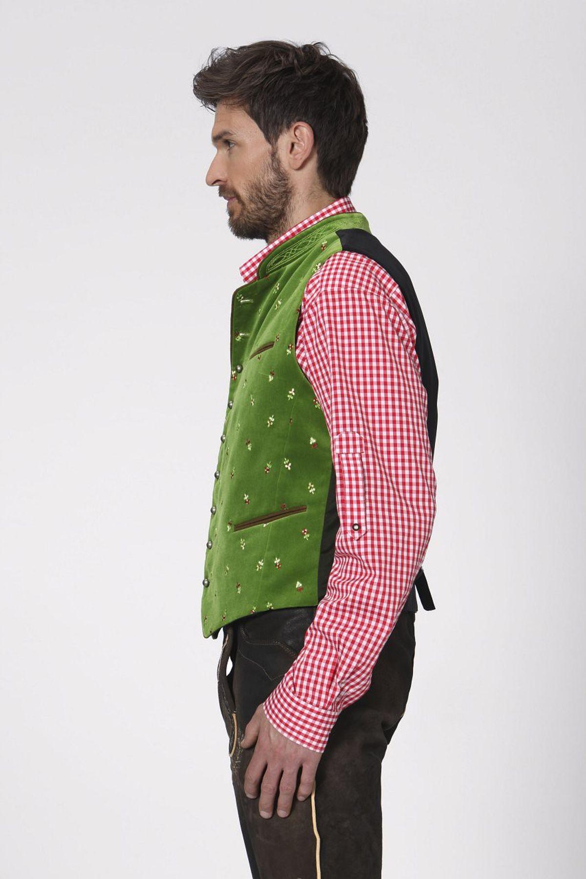Stockerpoint - Herren Trachten Weste in verschiedenen Farbtönen, Calzado – Bild 13