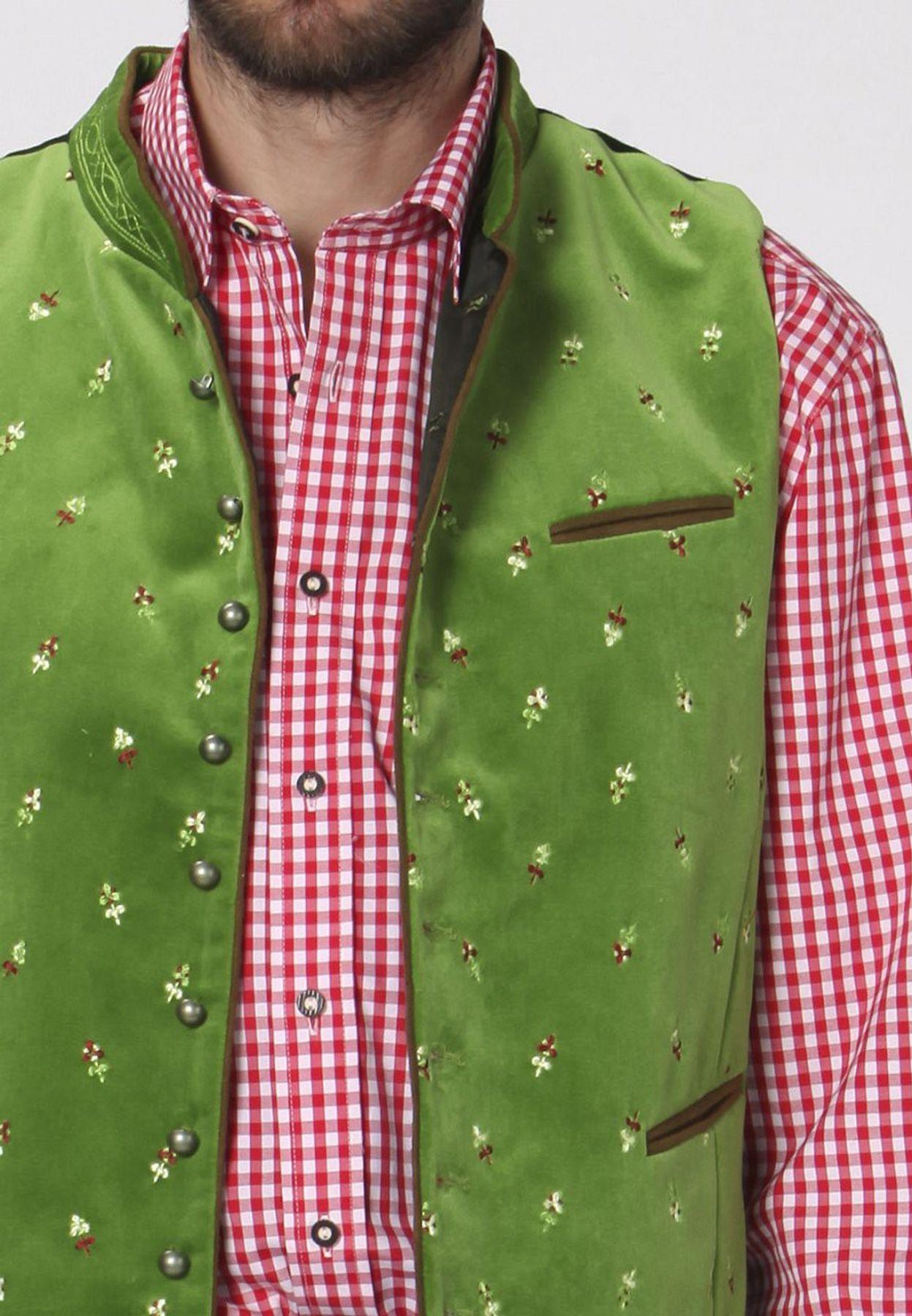 Stockerpoint - Herren Trachten Weste in verschiedenen Farbtönen, Calzado – Bild 15
