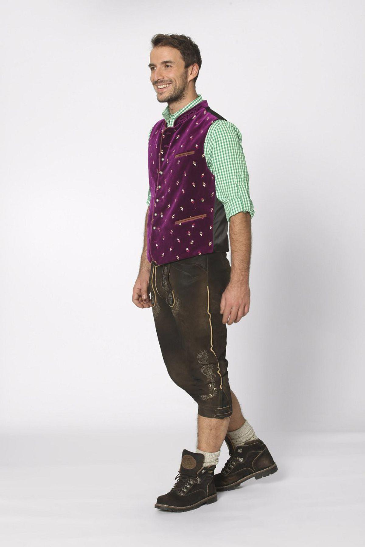 Stockerpoint - Herren Trachten Weste in verschiedenen Farbtönen, Calzado – Bild 22