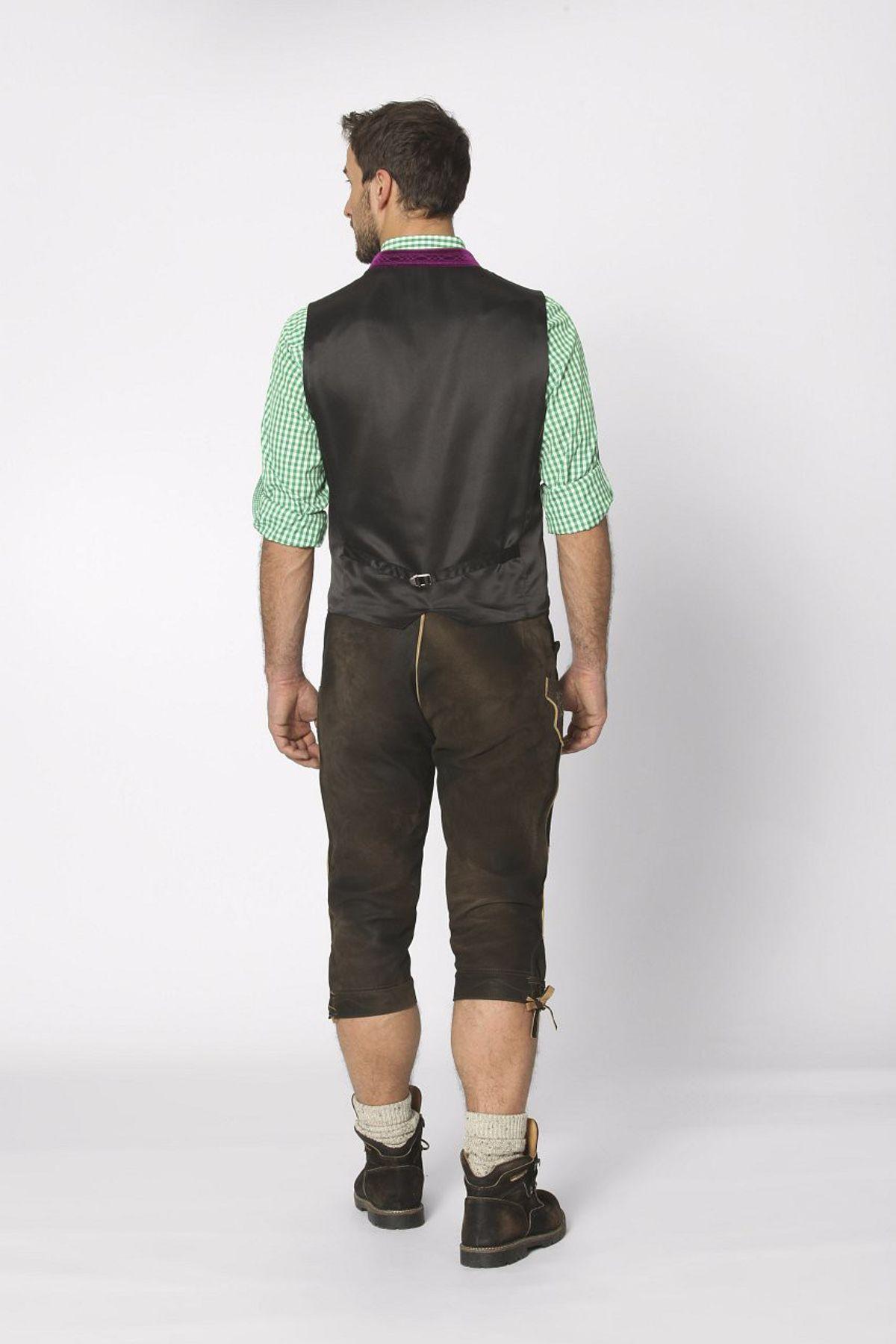 Stockerpoint - Herren Trachten Weste in verschiedenen Farbtönen, Calzado – Bild 23