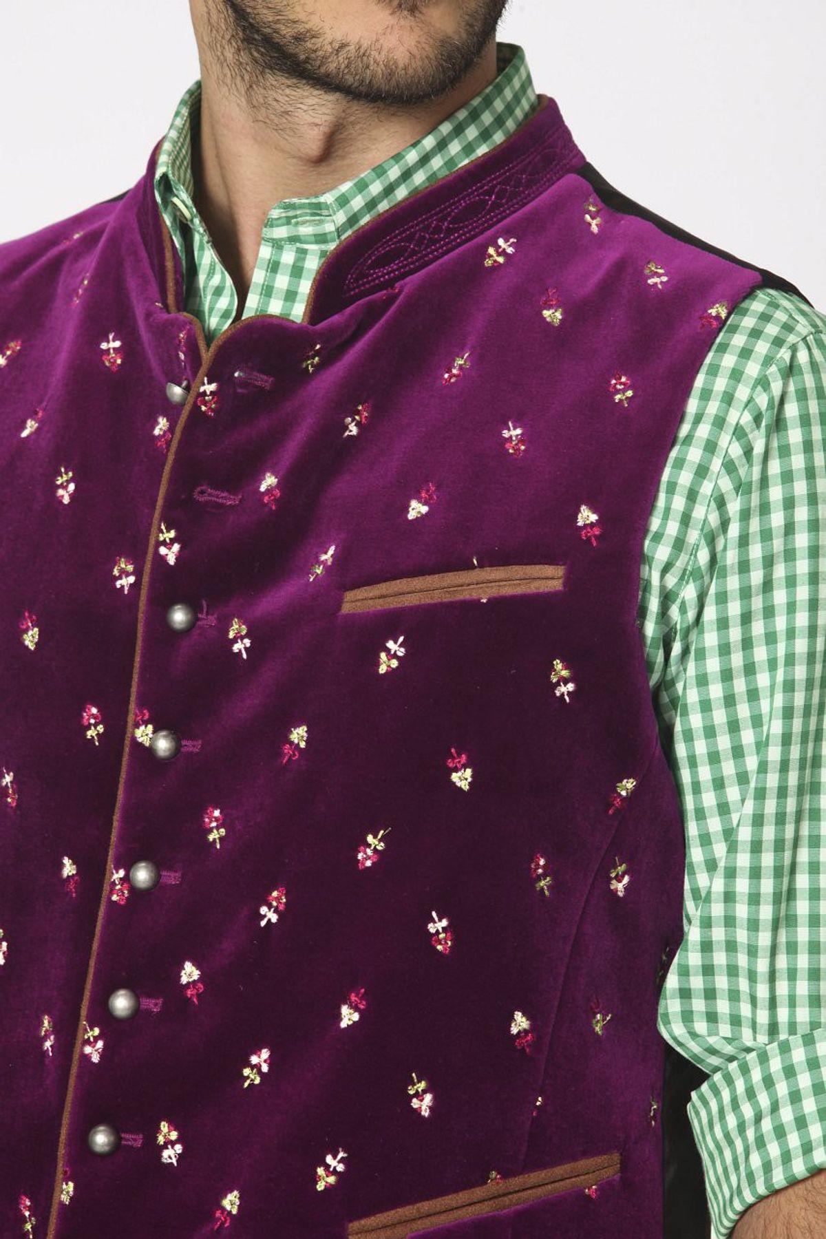 Stockerpoint - Herren Trachten Weste in verschiedenen Farbtönen, Calzado – Bild 24
