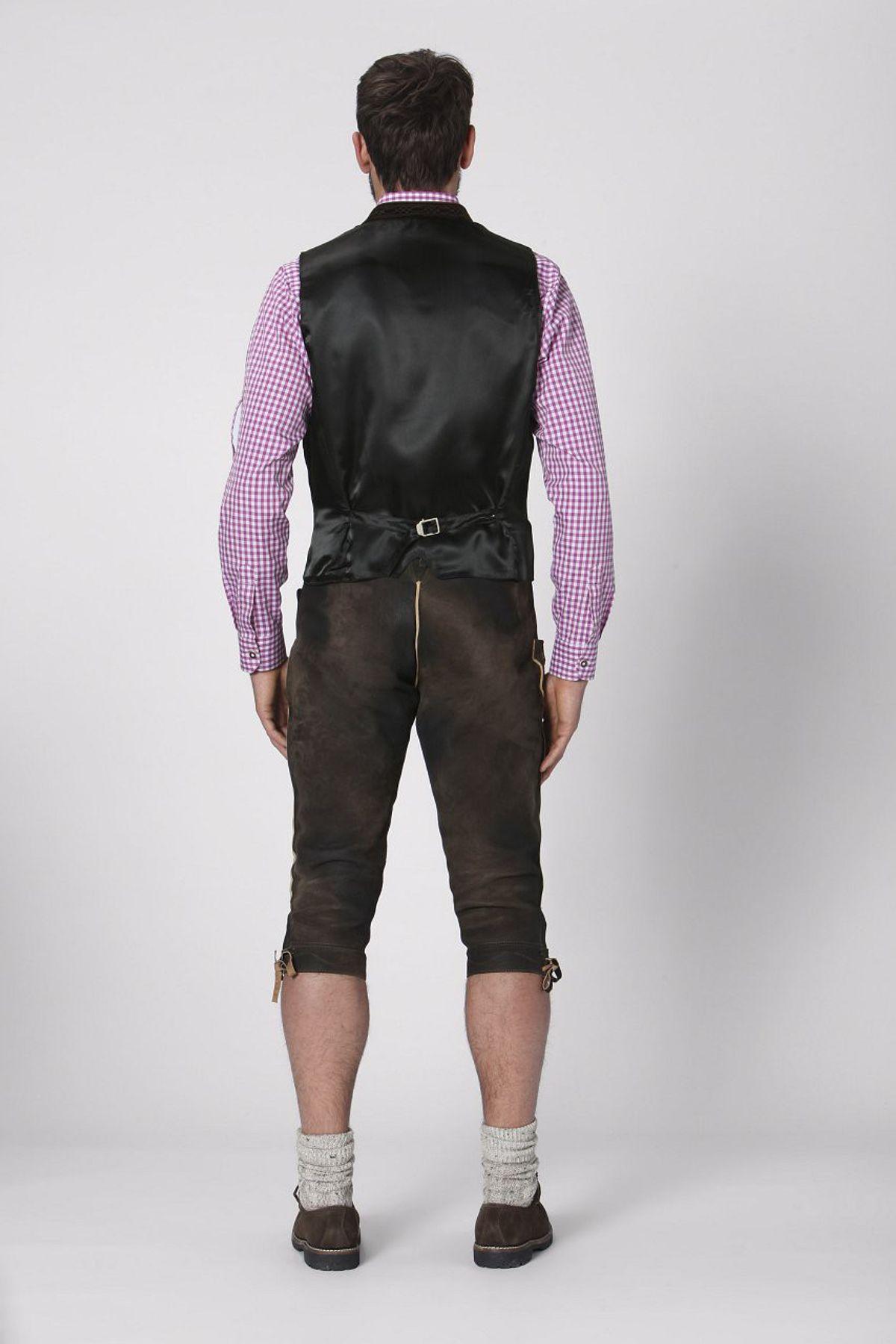 Stockerpoint - Herren Trachten Weste in verschiedenen Farbtönen, Calzado – Bild 4