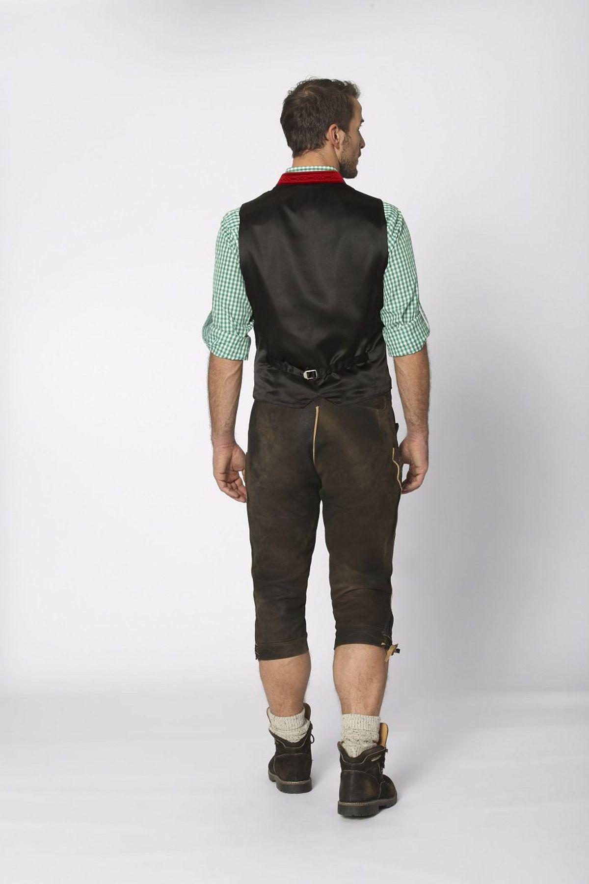 Stockerpoint - Herren Trachten Weste in verschiedenen Farbtönen, Calzado – Bild 9