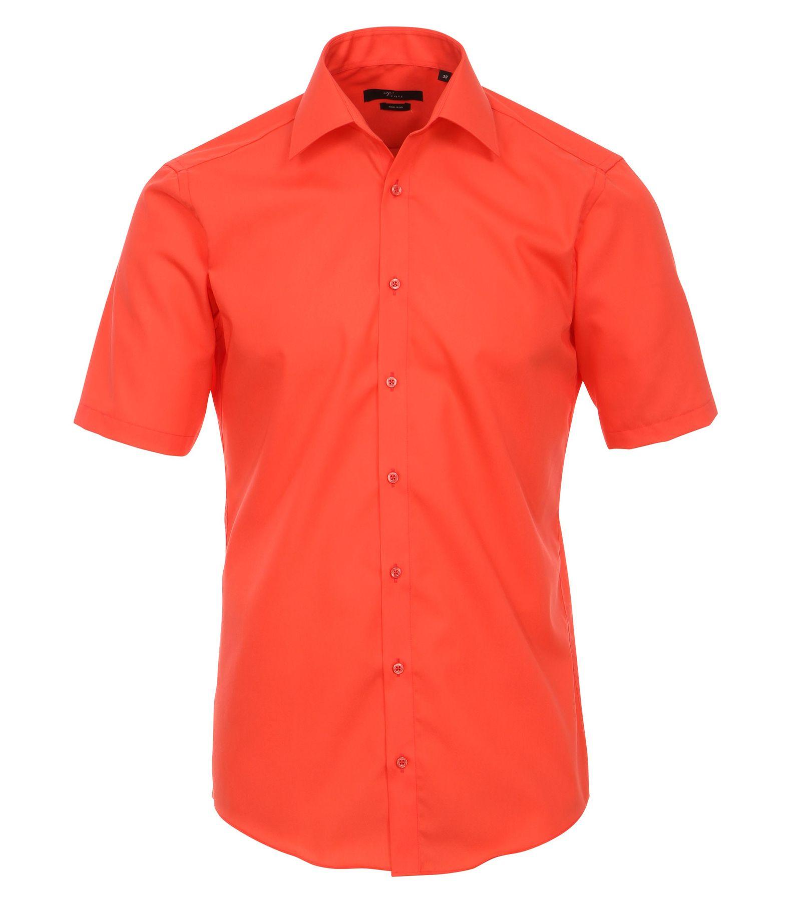 Venti - Slim Fit - Bügelfreies Herren Kurzarm Hemd in diversen Farben (001620 A) – Bild 2
