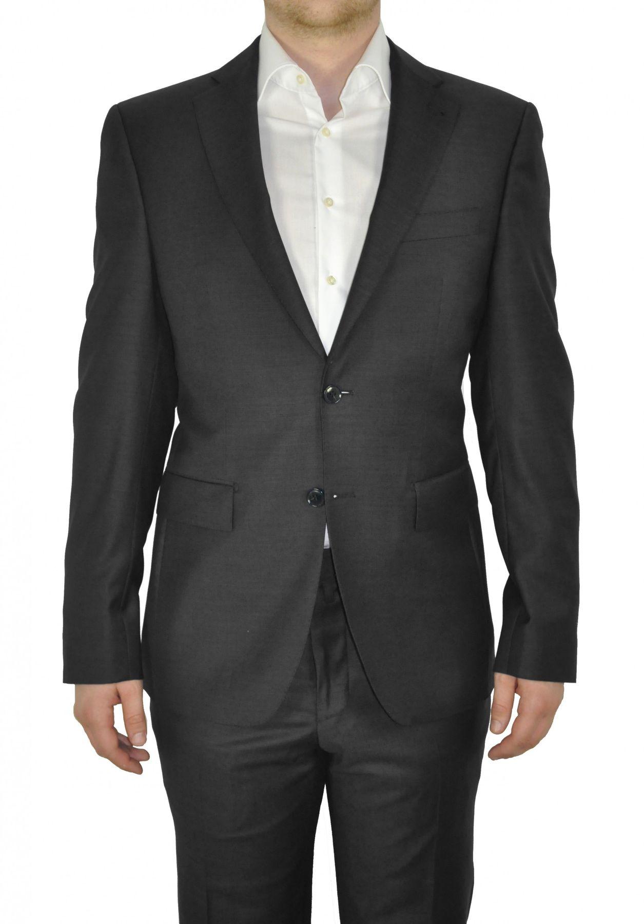 Barutti - Tailored Fit - Herren Sakko aus reiner Super 120'S Schurwolle, Meliert, 900 8005 (Tarso AMF) – Bild 7