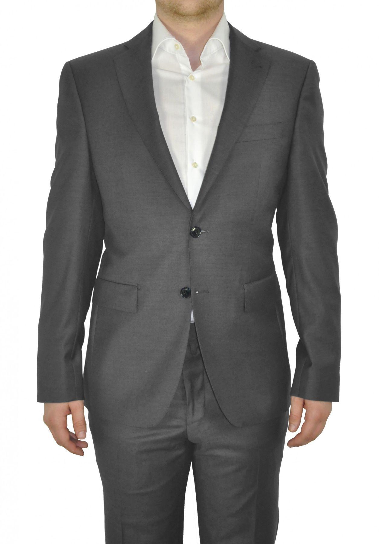 Barutti - Tailored Fit - Herren Sakko aus reiner Super 120'S Schurwolle, Meliert, 900 8005 (Tarso AMF) – Bild 5