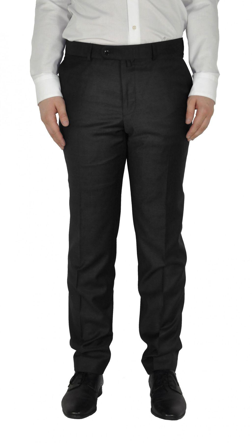 Barutti - Tailored Fit - Herren Anzughose aus reiner Super 120'S Schurwolle, Meliert, 900 8005 (Tosco) – Bild 3