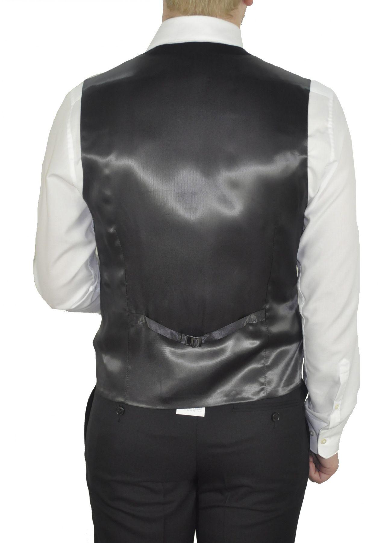 Barutti - Tailored Fit - Herren Anzugweste aus reiner Super 100'S Schurwolle in verschiedenen Farben, 900 8006 (Terzo AMF) – Bild 2