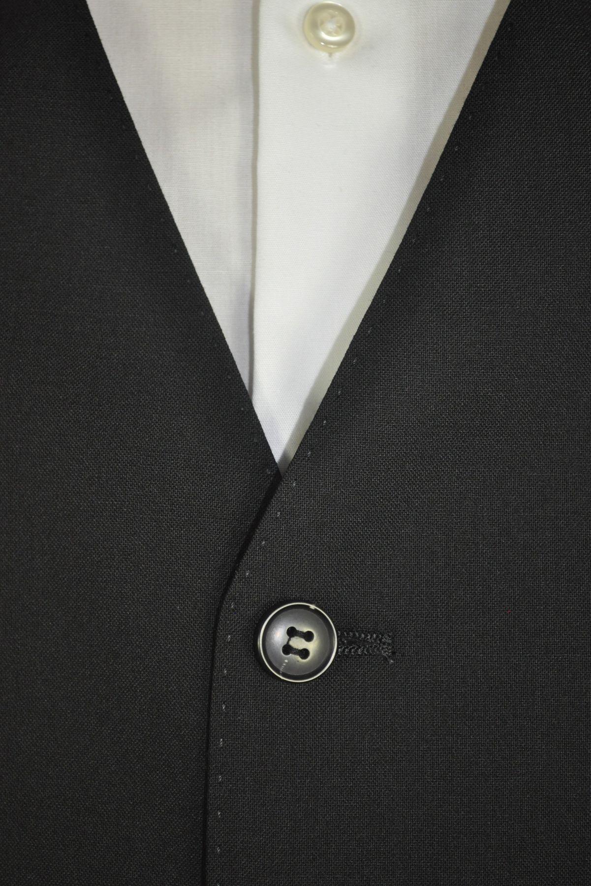 Barutti - Tailored Fit - Herren Anzugweste aus reiner Super 100'S Schurwolle in verschiedenen Farben, 900 8006 (Terzo AMF) – Bild 3