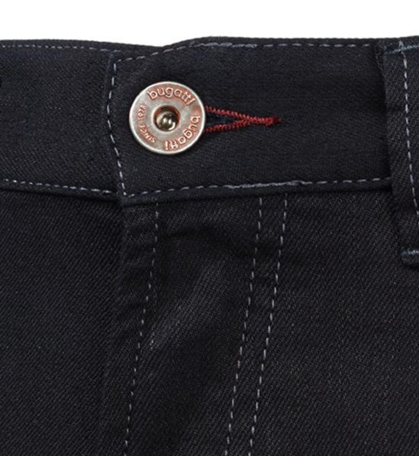 Bugatti - Herren Jeans mit 5 Taschen in Schwarz (Art. Nr.: 3280D-66661) – Bild 2