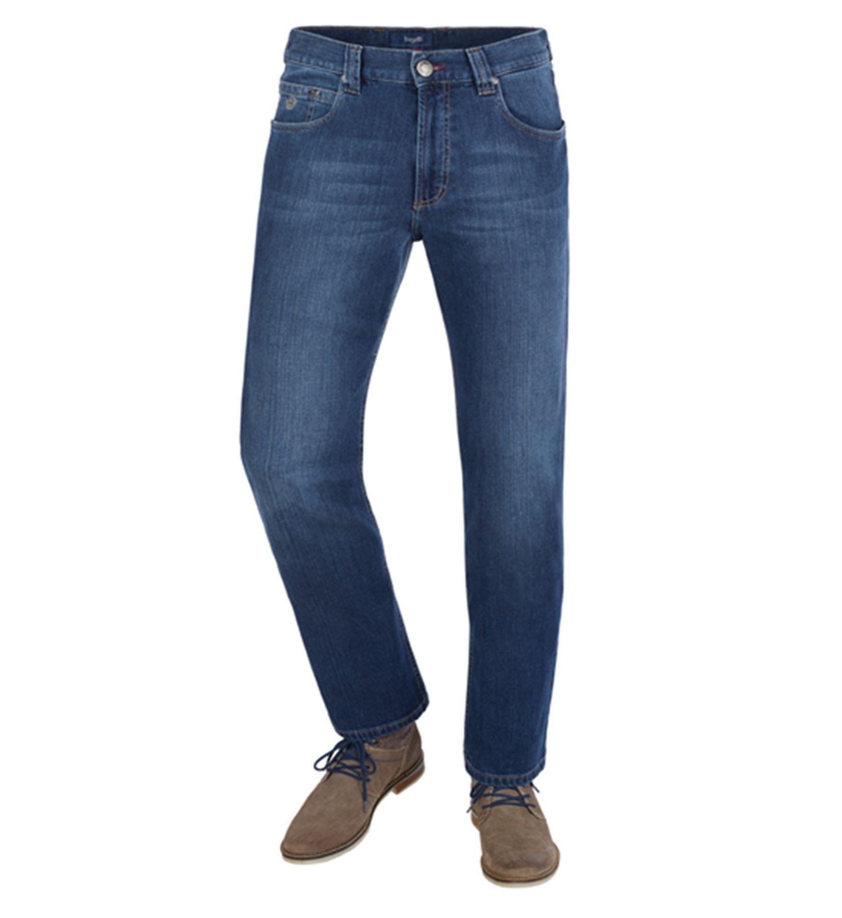 Bugatti - Herren Jeans mit 5 Taschen in verschiedenen Farben (Art. Nr.: 3280D-16640) – Bild 2