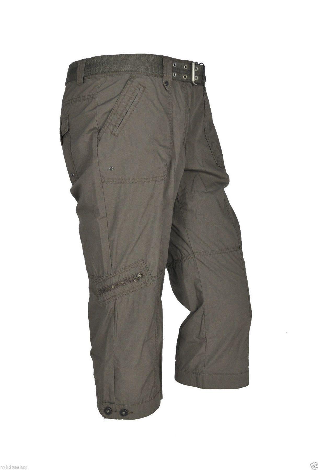 Damen 3/4 Shorts mit Cargo Taschen und in verschiedenen Farben, Art. Janina – Bild 7
