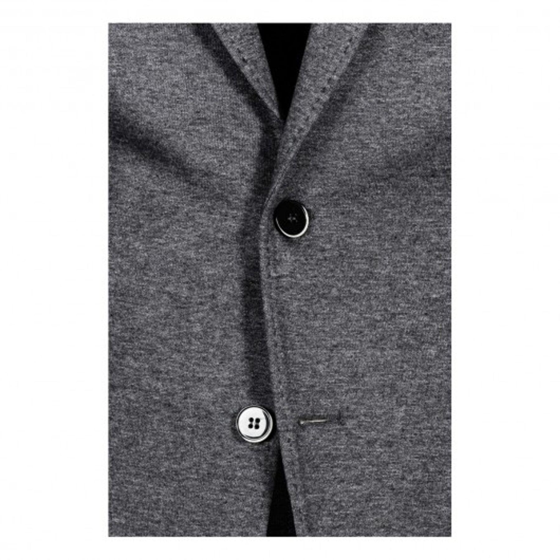 Benvenuto Black - Modern Fit - Herren Jersey Sakko in modischer Optik, Riva (20790, Modell: 62568) – Bild 4