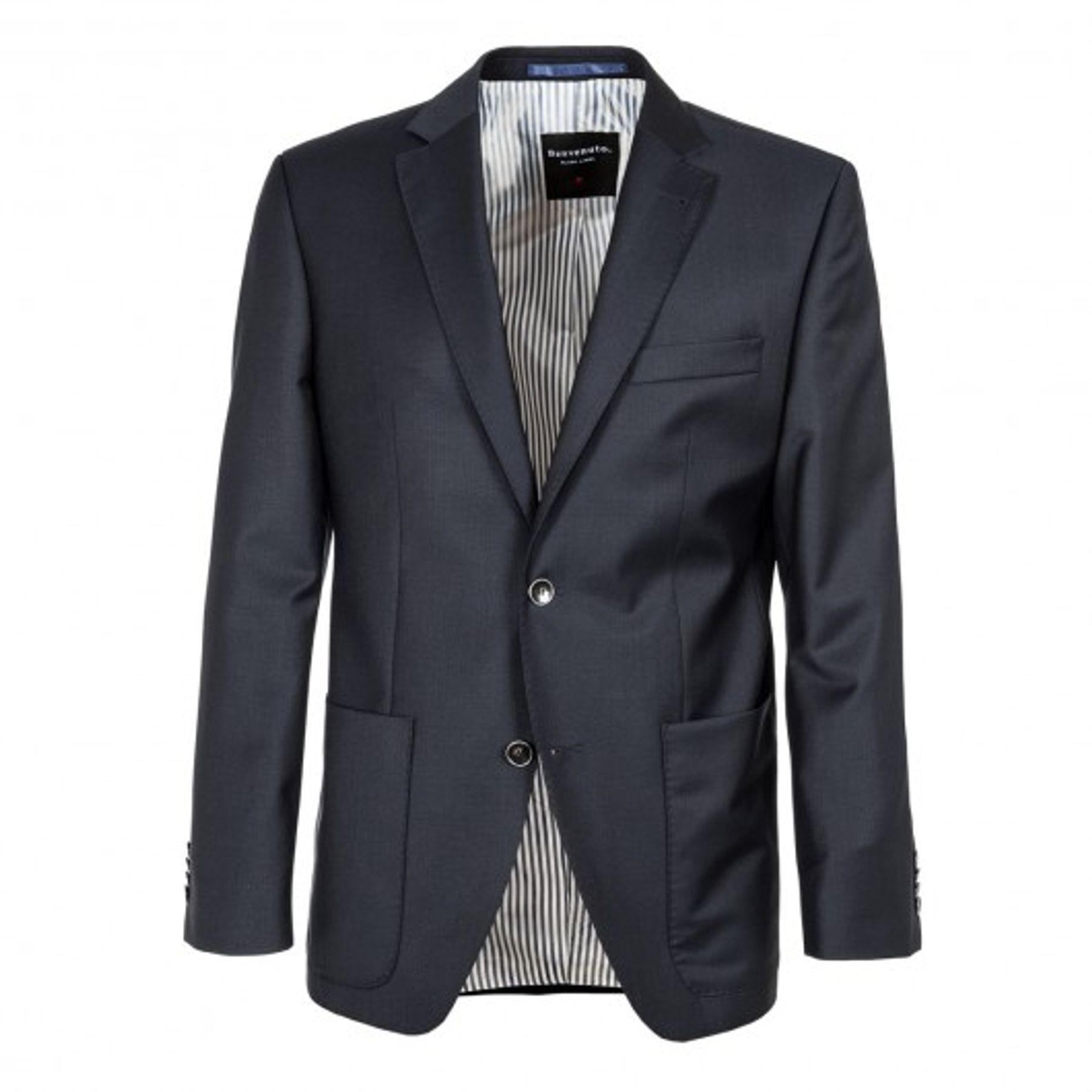 Benvenuto Black - Regular Fit - Herren Baukasten Sakko aus 100% Schurwolle Super 120s, Bellini (20583, Modell: 62589) – Bild 2