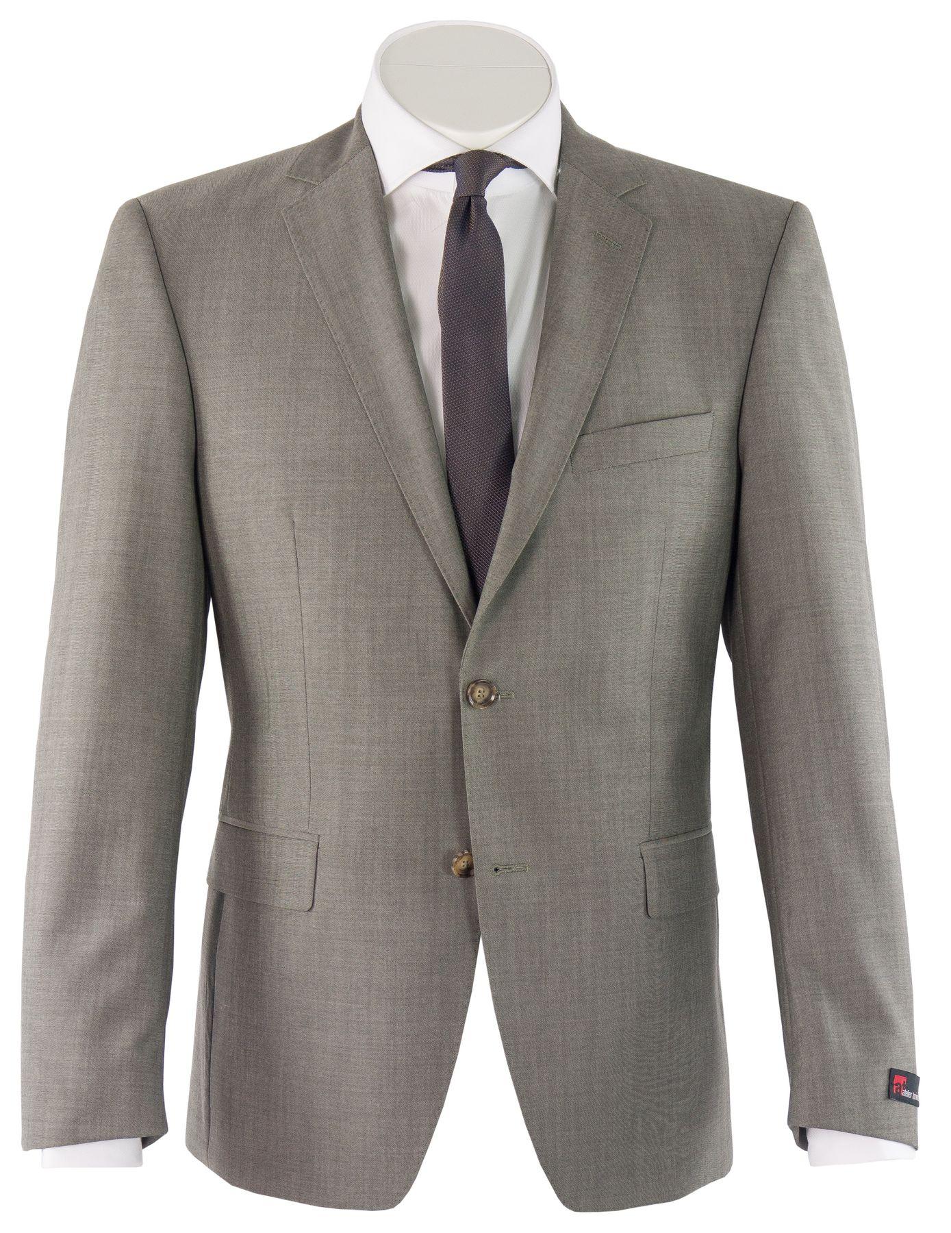 Atelier Torino - Classic Fit - Herren Baukasten Anzug aus Super 100'S Schurwolle, Weber: Marlane Primatist, Giorgio SS/Bill (831102) – Bild 3