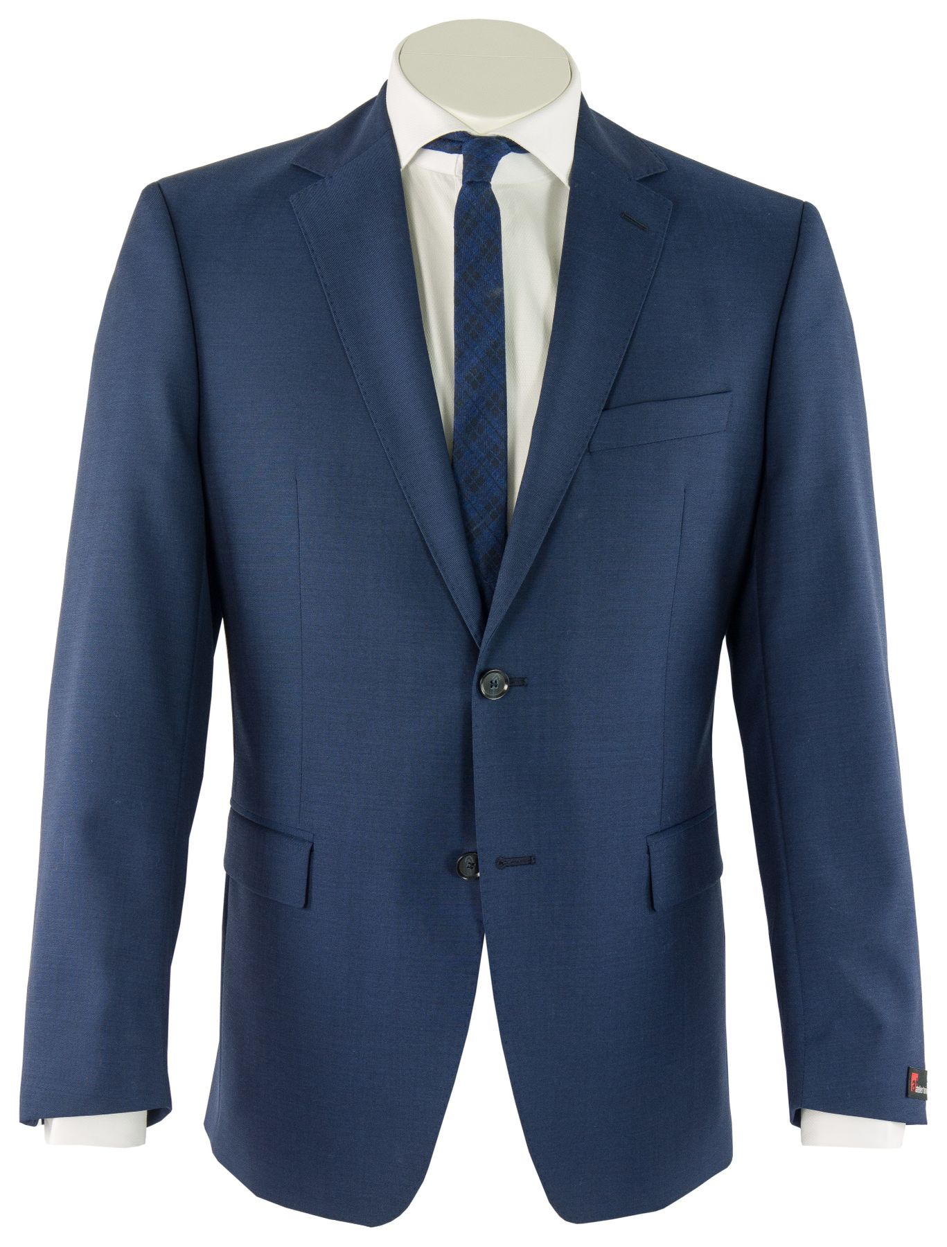 Atelier Torino - Classic Fit - Herren Baukasten Anzug aus Super 100'S Schurwolle, Weber: Marlane Primatist, Giorgio SS/Bill (831102) – Bild 1