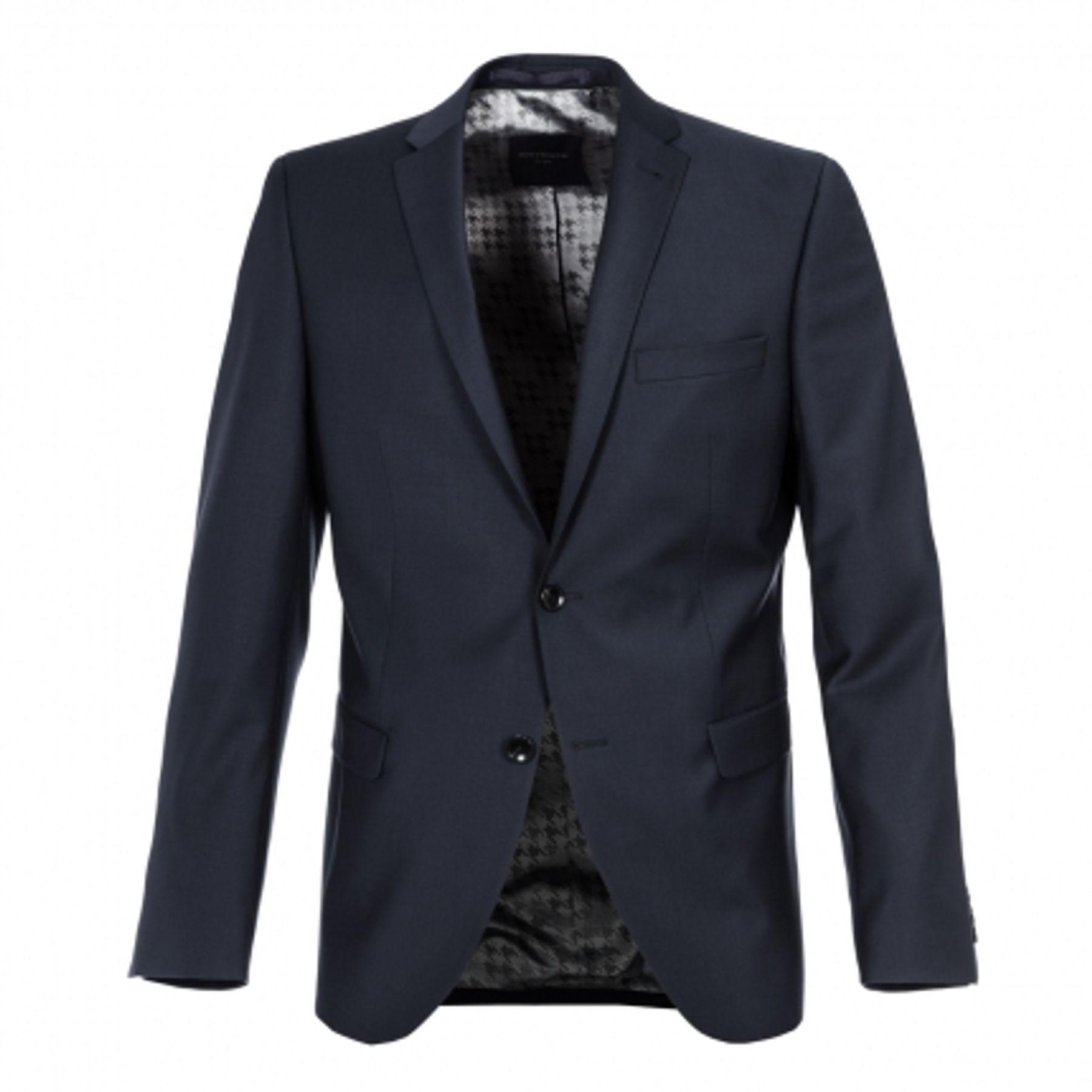 Benvenuto Purple - Slim Fit - Herren Baukasten Sakko für Jungen Trend-Anzug mit sehr schlankem Schnitt in Dunkelblau, Adrio (20657, Modell: 61370) – Bild 3
