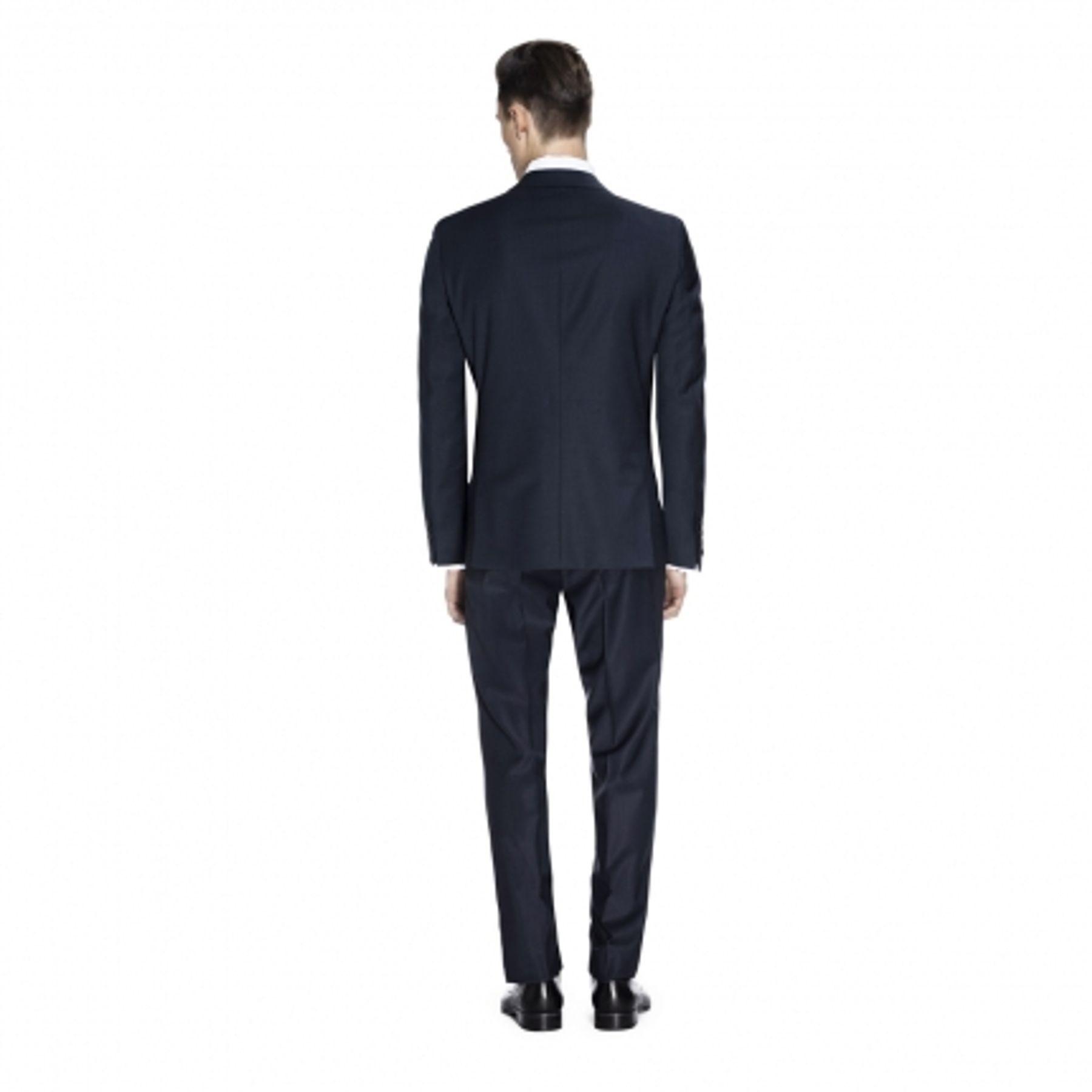 Benvenuto Purple - Slim Fit - Herren Baukasten Sakko für Jungen Trend-Anzug mit sehr schlankem Schnitt in Dunkelblau, Adrio (20657, Modell: 61370) – Bild 5