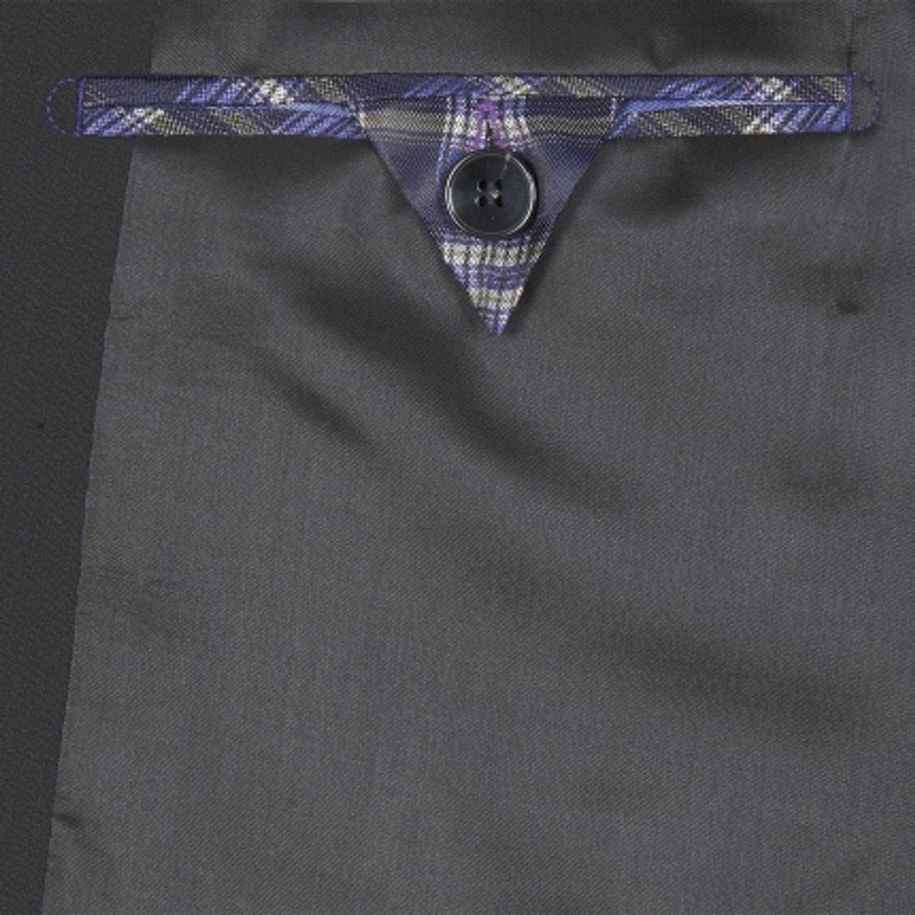 Benvenuto Purple - Slim Fit - Herren Baukasten Sakko für Jungen Trend-Anzug mit sehr schlankem Schnitt in verschiedenen Farben, Adonis (20657, Modell: 61283) – Bild 3