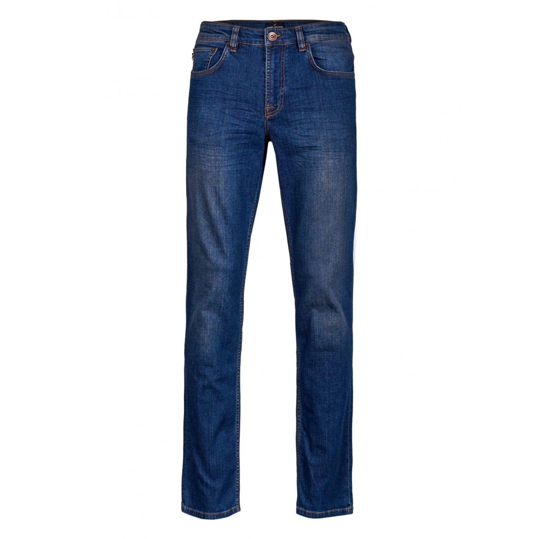 Daniel Hechter - Regular Comfort Fit - Herren 5-Pocket Jeans in Blau oder Dunkelblau (100350) – Bild 4