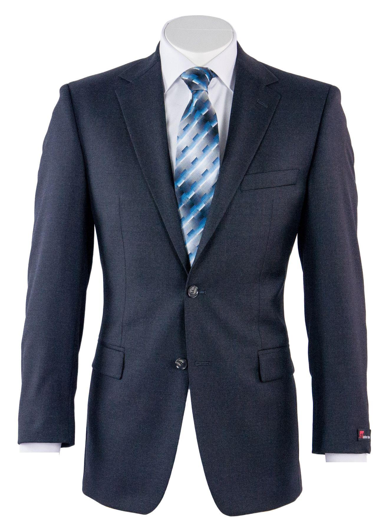 Atelier Torino - Classic Fit - Herren Baukasten Anzug des Webers Reda in verschiedenen Farben, Prestige SS/Rex (67136) – Bild 7
