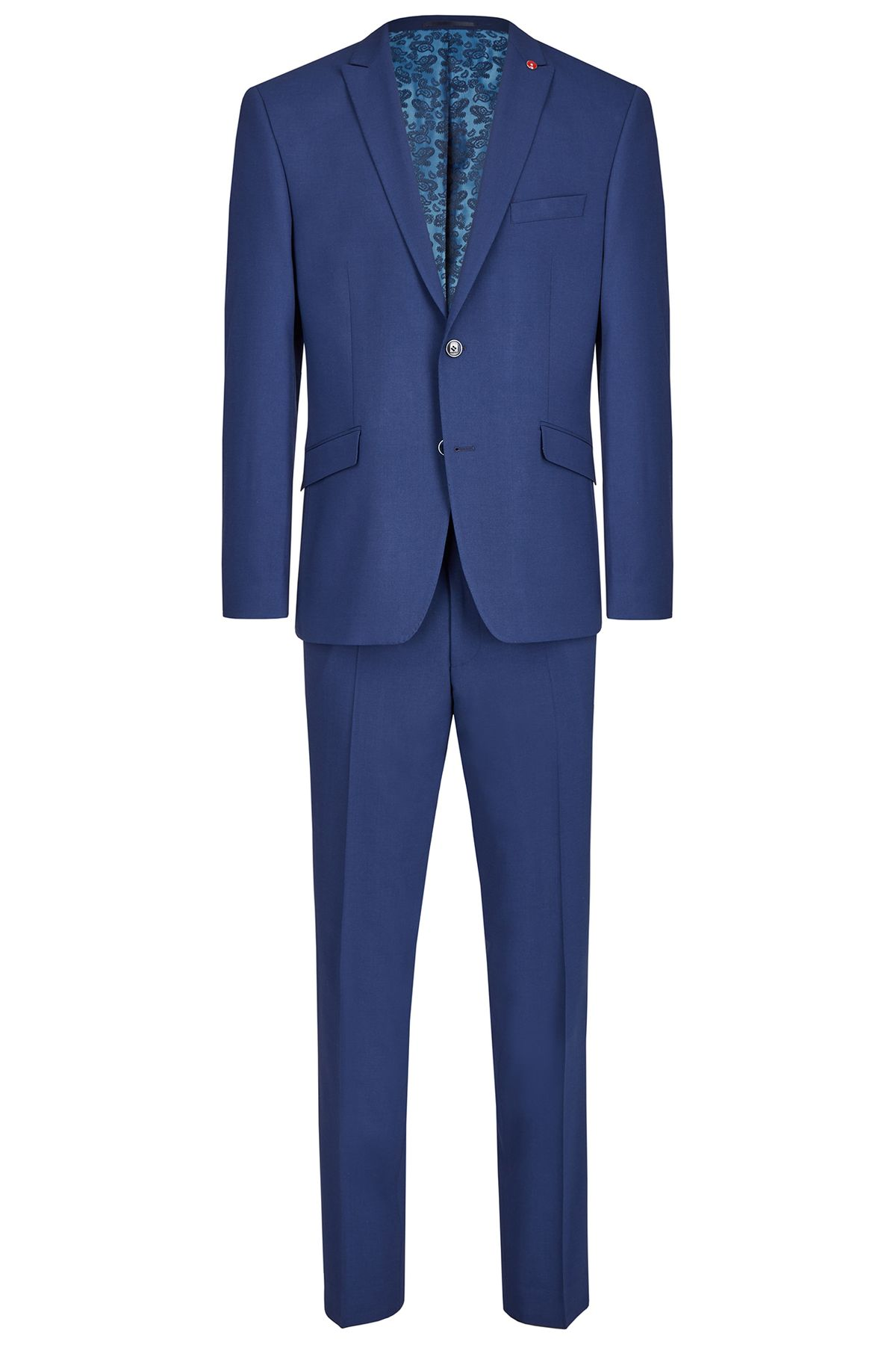 Atelier Torino GALA - Modern Fit - Herren Baukasten Anzug in Blau, Weber: Tollegno, Tizian SS/Caio (861153) – Bild 1