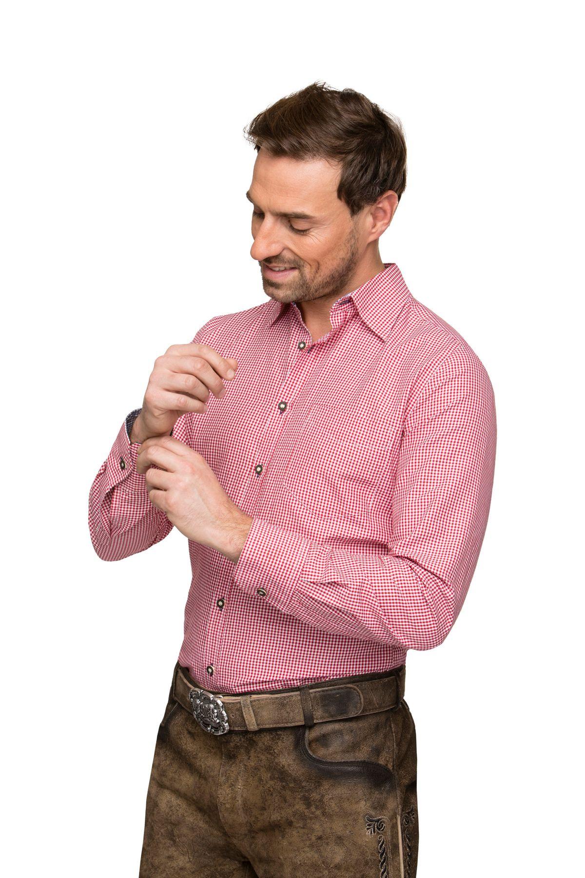 Stockerpoint - Herren Trachtenhemd,Dave2 – Bild 10