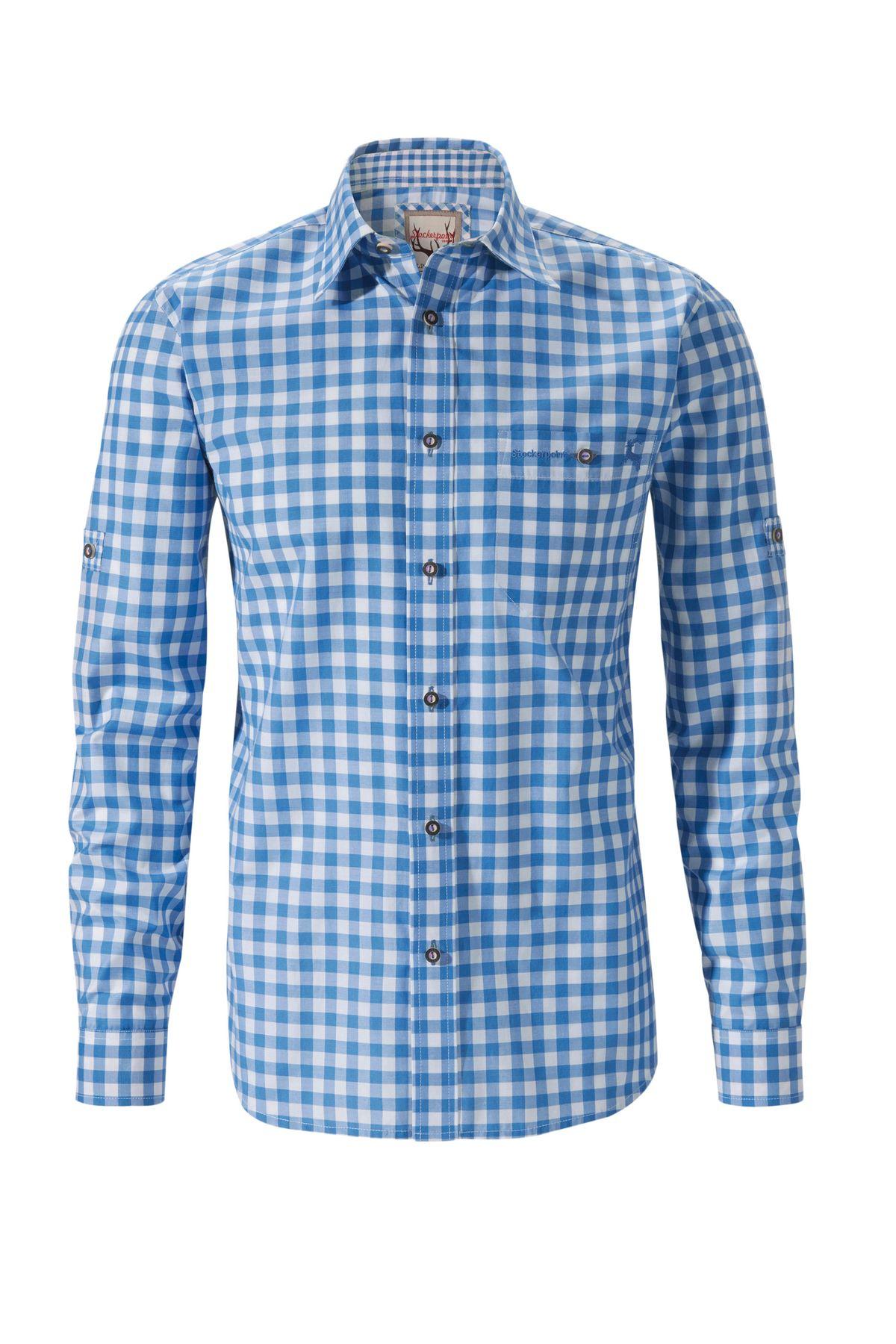 Stockerpoint - Herren Trachtenhemd,Mitchel – Bild 1