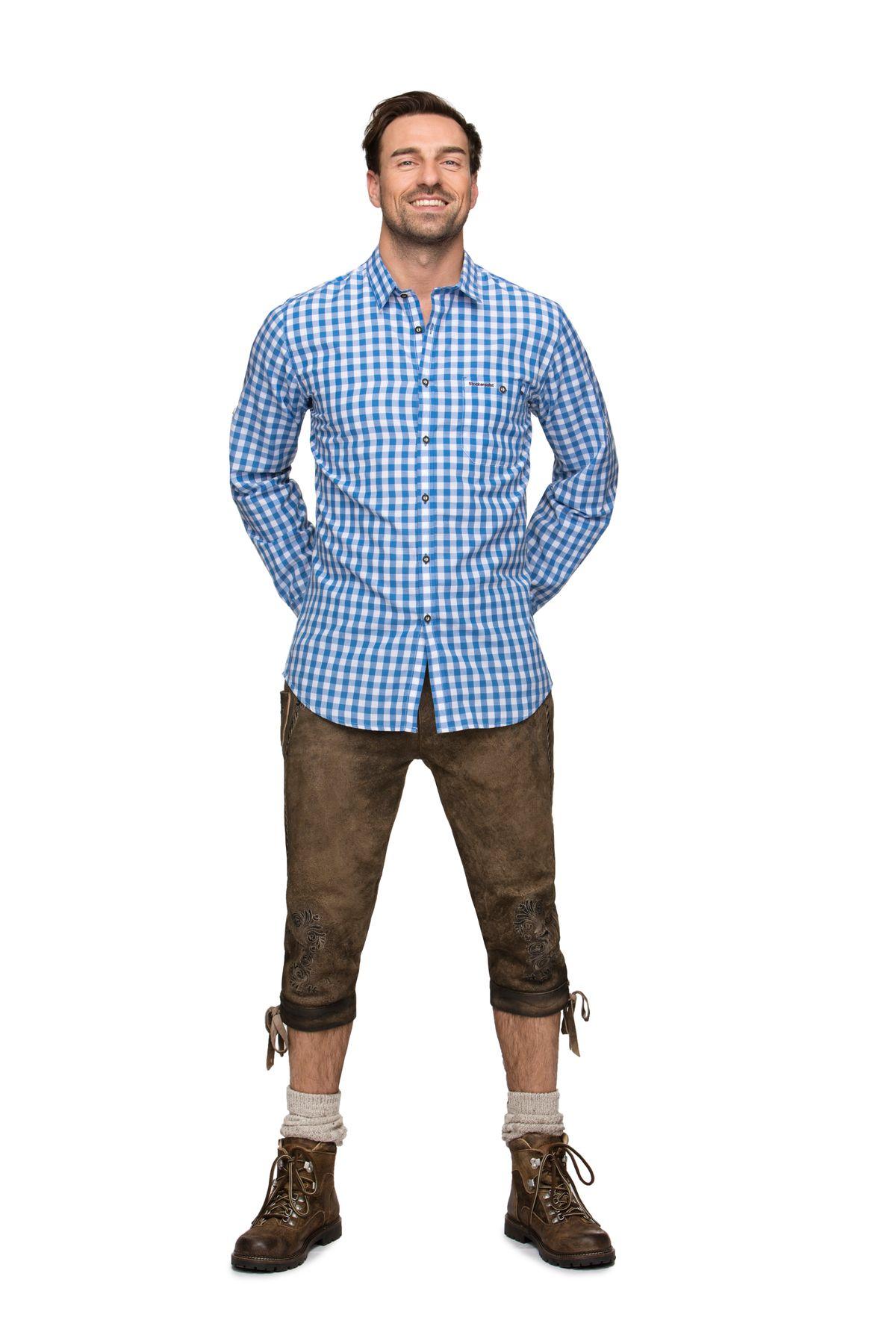 Stockerpoint - Herren Trachtenhemd,Mitchel – Bild 2