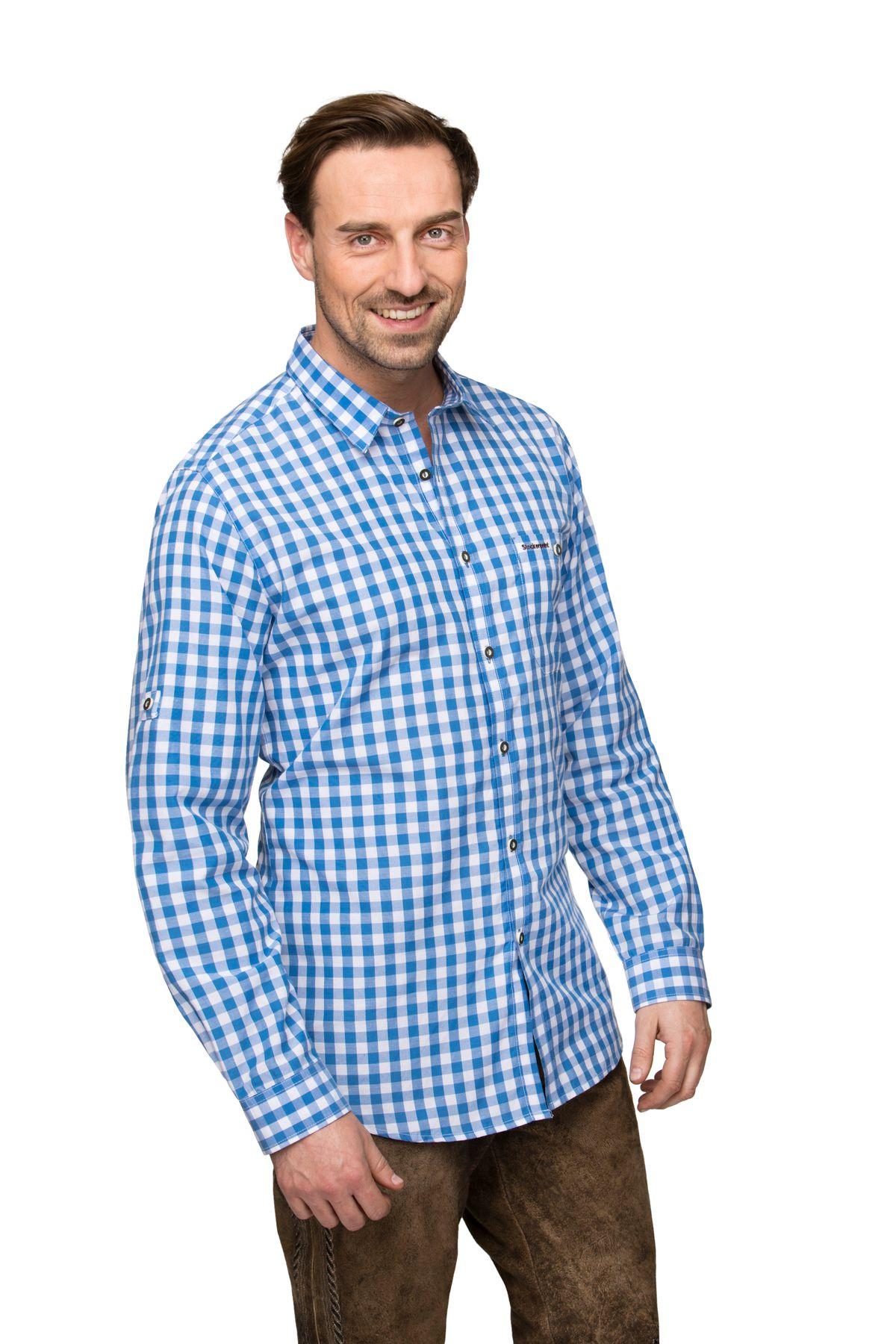 Stockerpoint - Herren Trachtenhemd,Mitchel – Bild 4