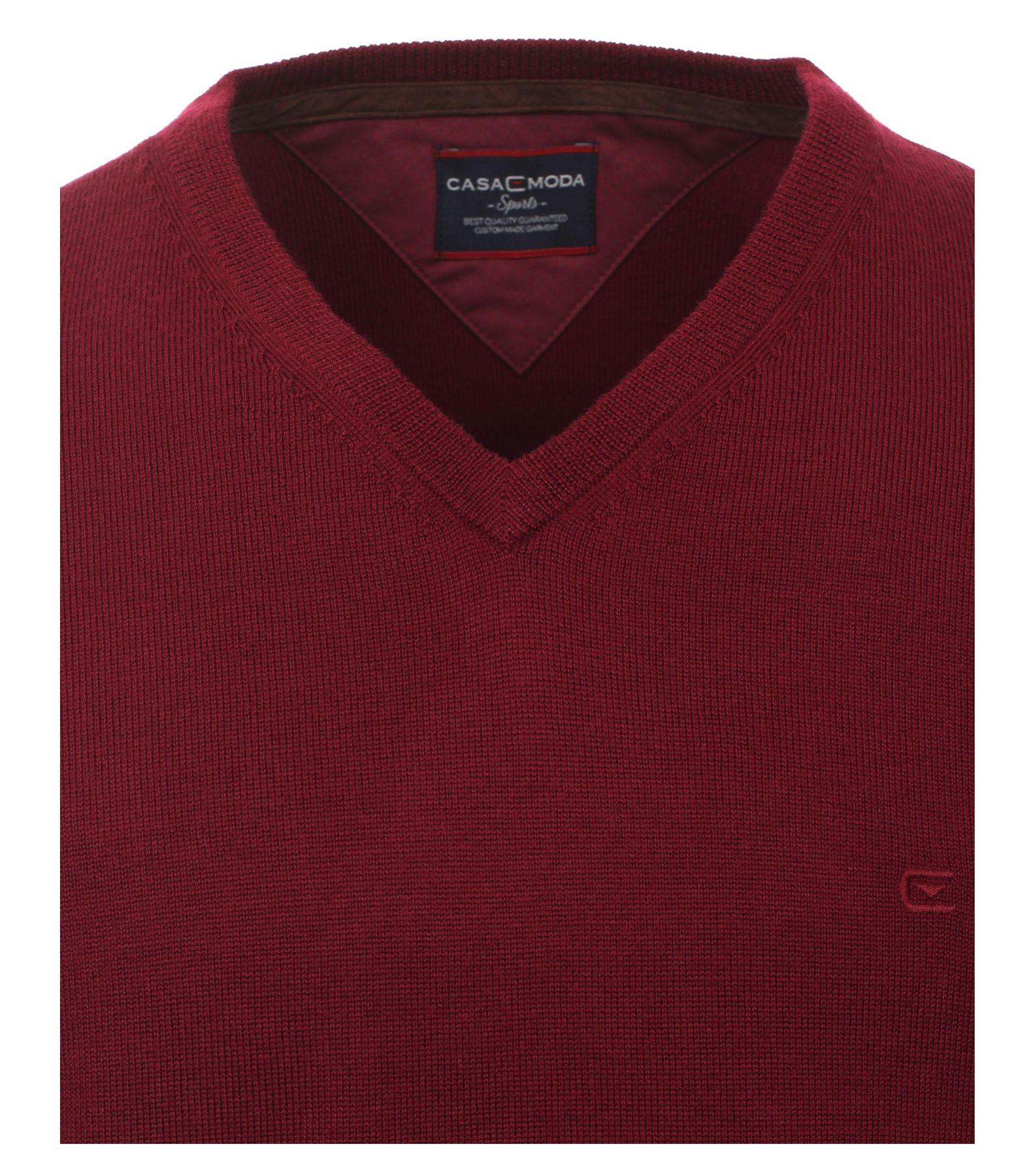 Casa Moda - Herren Merino Pullover mit V-Ausschnitt (462519900) – Bild 8