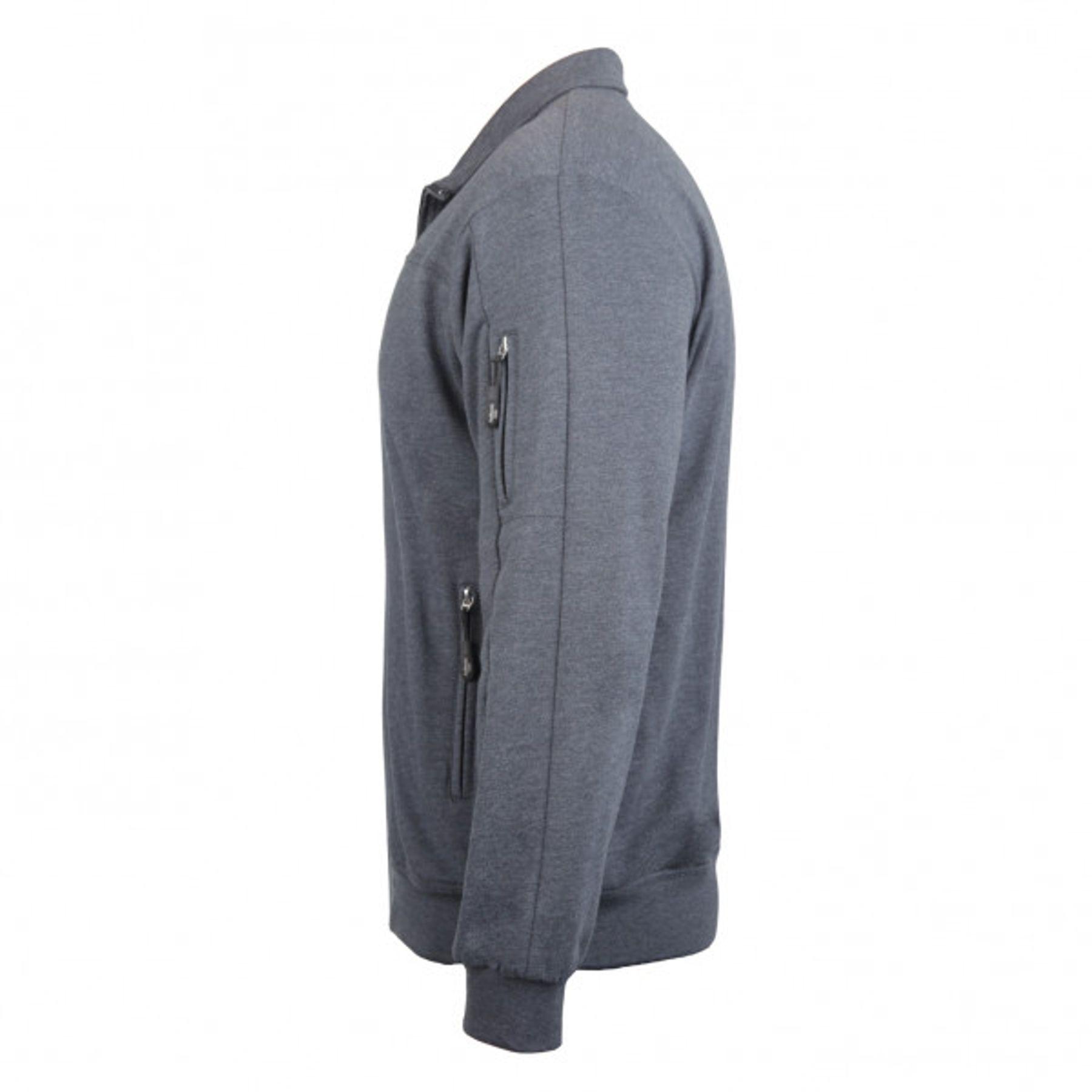 Authentic klein - Herren Sport und Freizeit Jacke aus Baumwolle in verschiedenen Farben (53036) – Bild 11