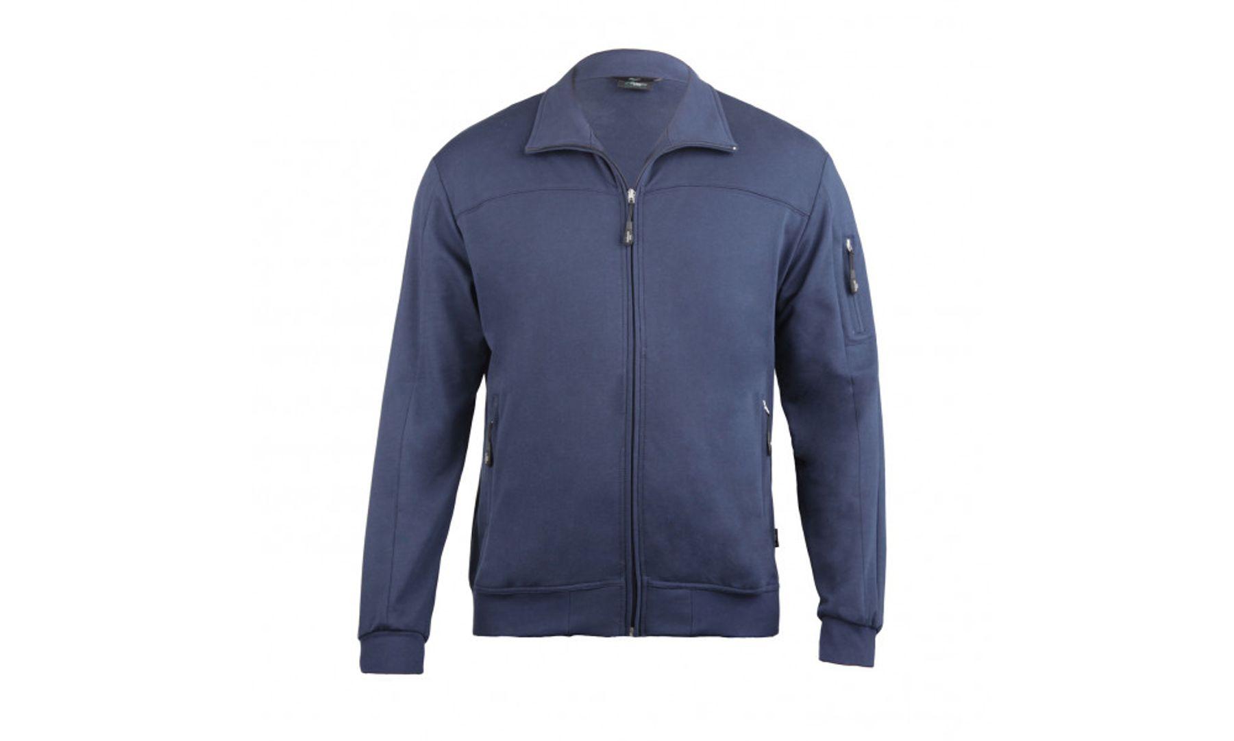 Authentic klein - Herren Sport und Freizeit Jacke aus Baumwolle in verschiedenen Farben (53036) – Bild 4
