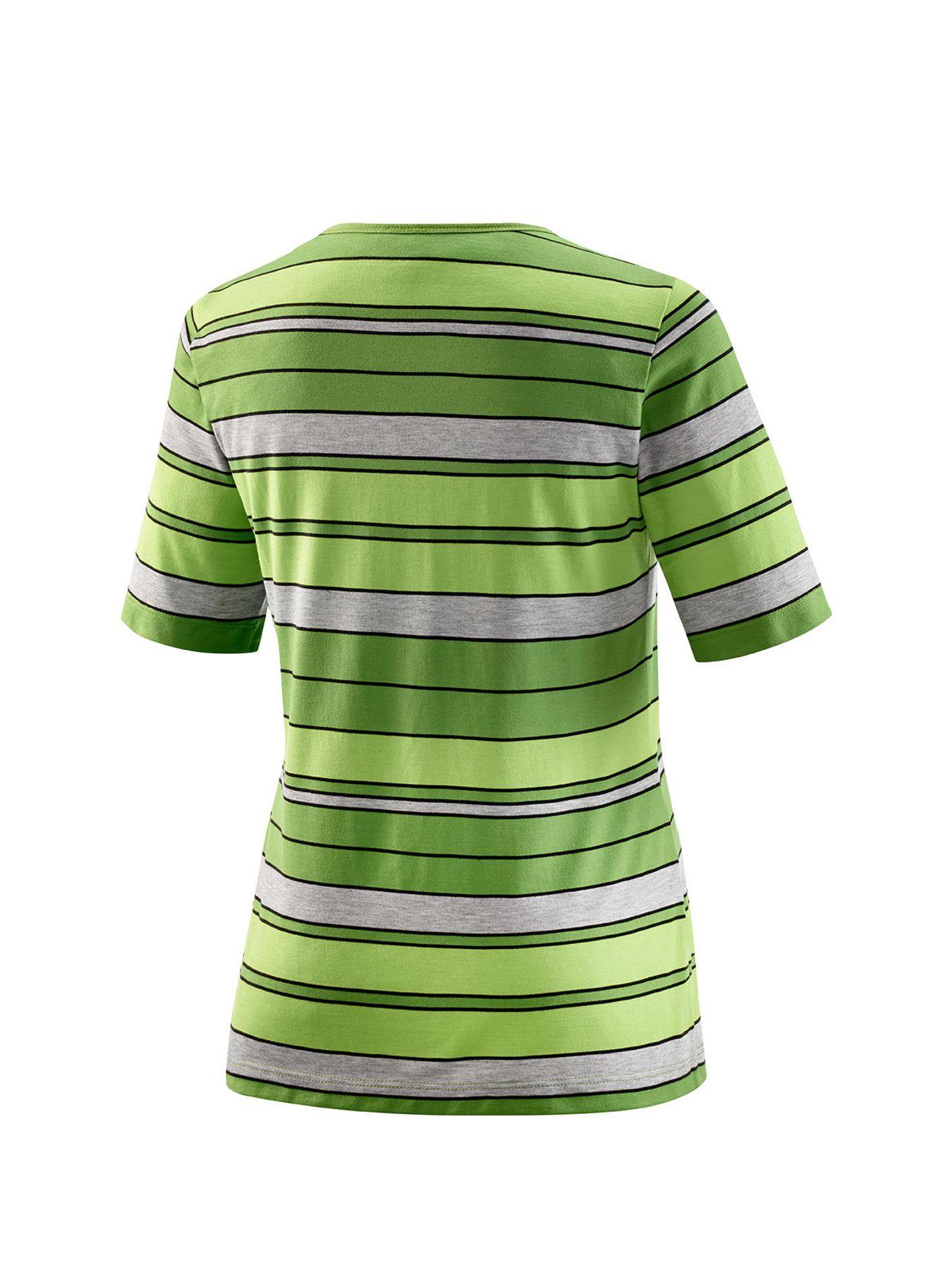 Joy - Damen Sport und Freizeit Shirt im Streifenmuster, Witta (30191) – Bild 4