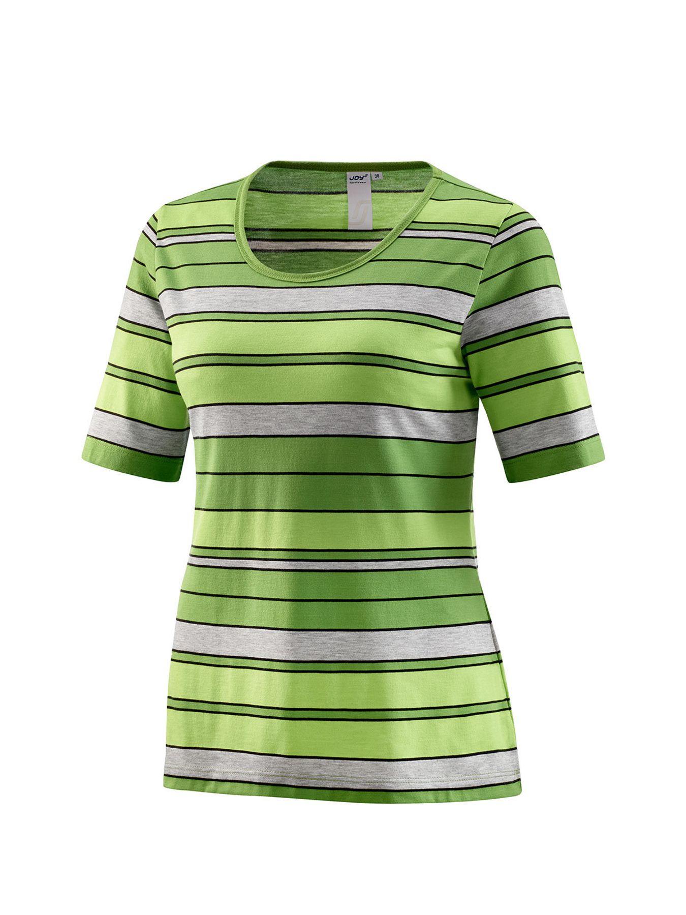 Joy - Damen Sport und Freizeit Shirt im Streifenmuster, Witta (30191) – Bild 1