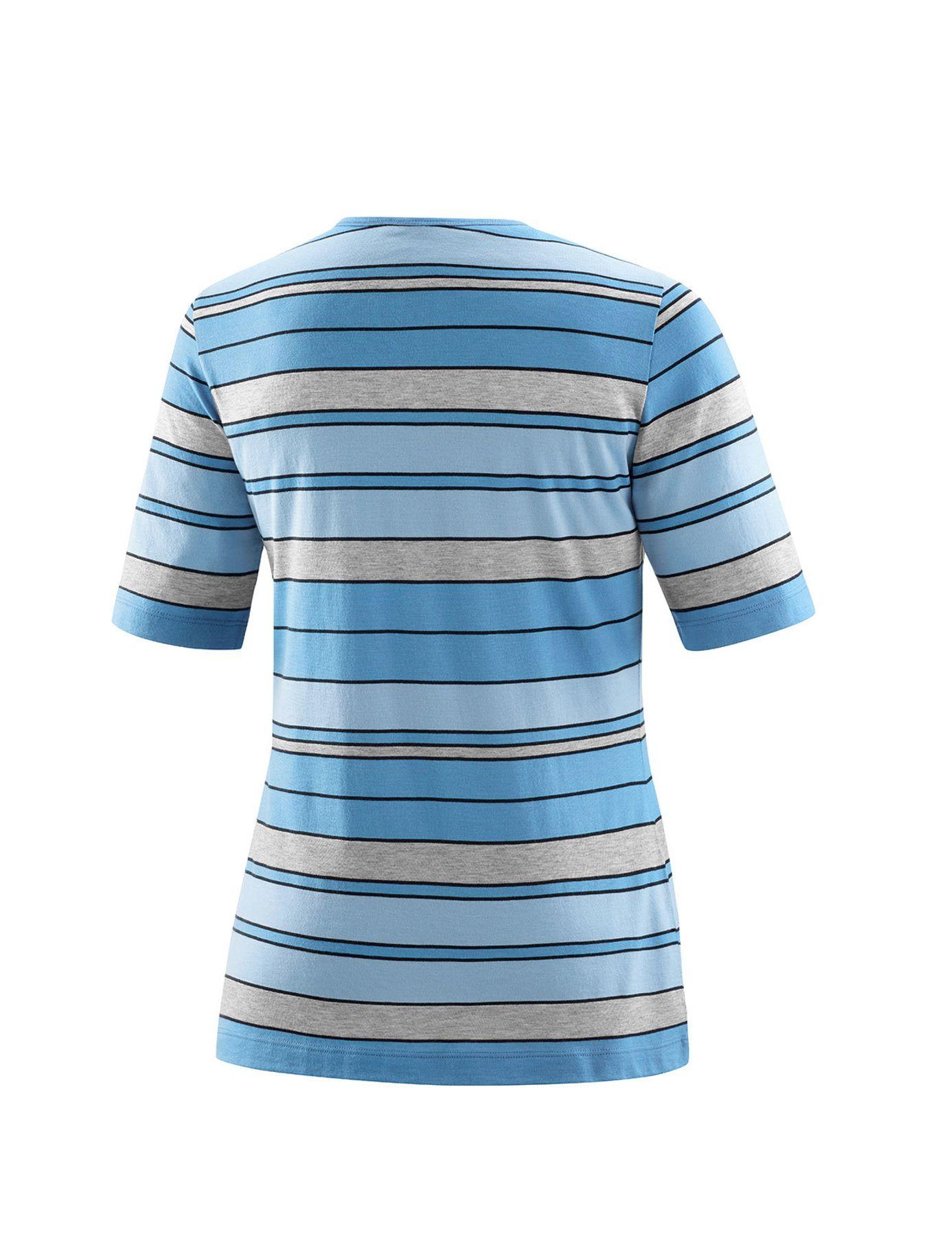 Joy - Damen Sport und Freizeit Shirt im Streifenmuster, Witta (30191) – Bild 13