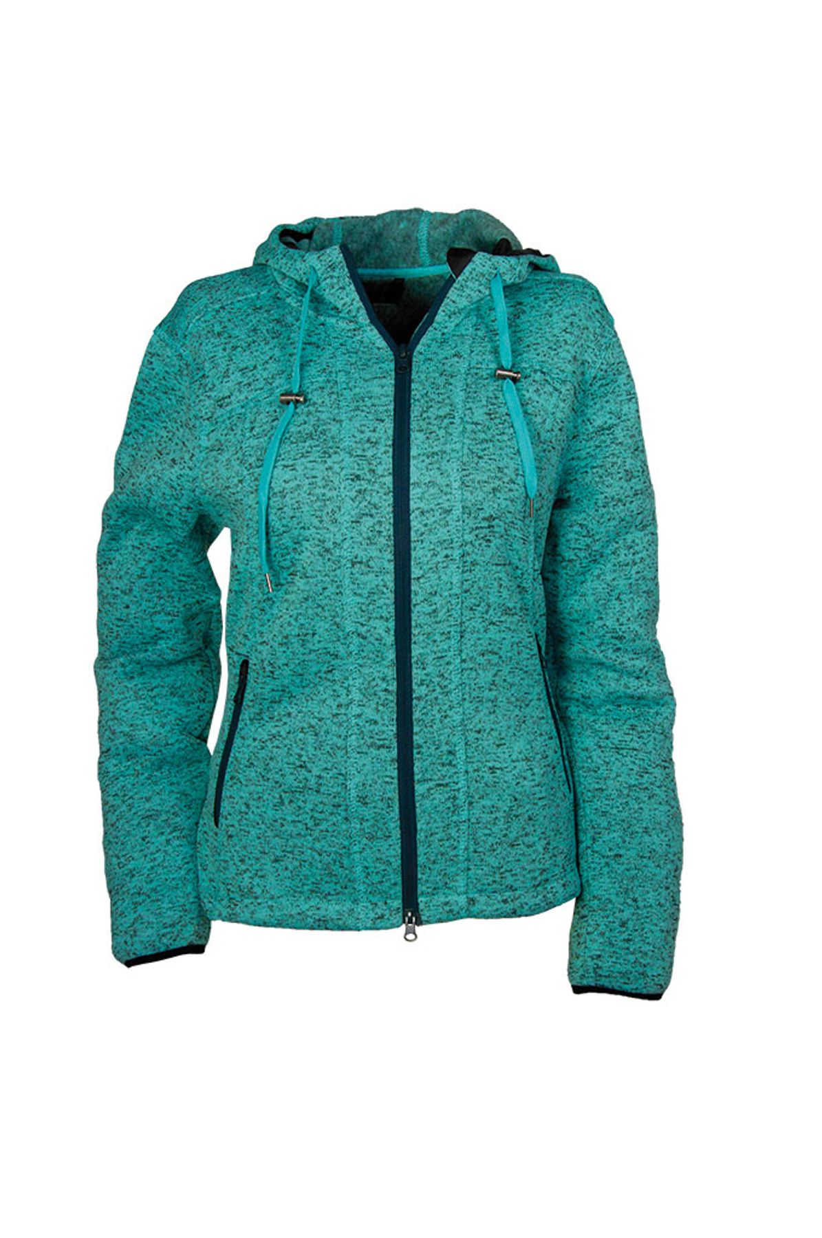 Brigg - Damen Fleecejacke in Strickoptik , H/W (10723534) – Bild 3