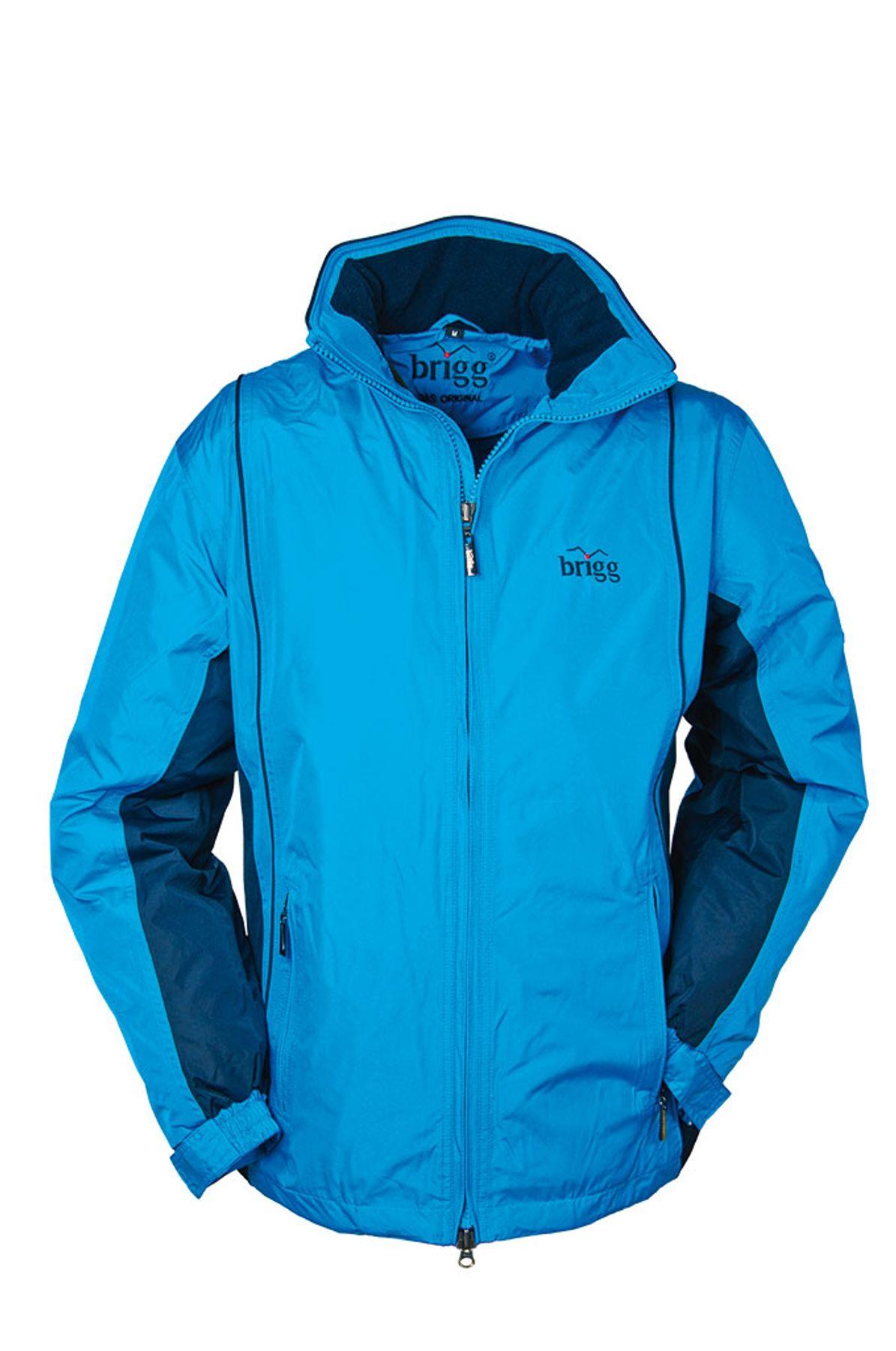 BRIGG - Unisex Funktions Jacke in diversen Farbvarianten, Wasserdicht, Atmungsaktiv, Winddicht, bis 10XL (10012001) – Bild 15
